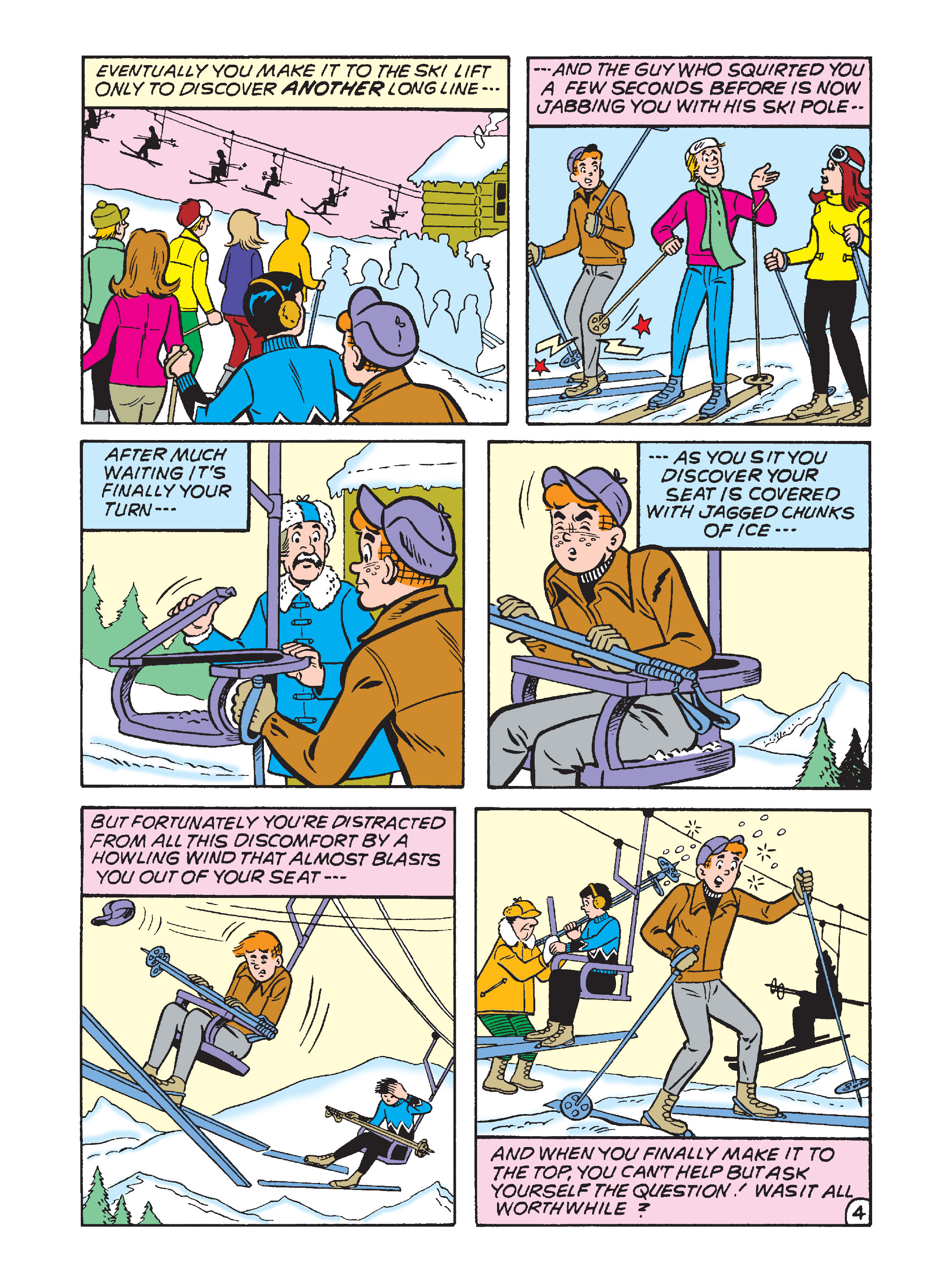 Read online Archie's Funhouse Double Digest comic -  Issue #1 - 87