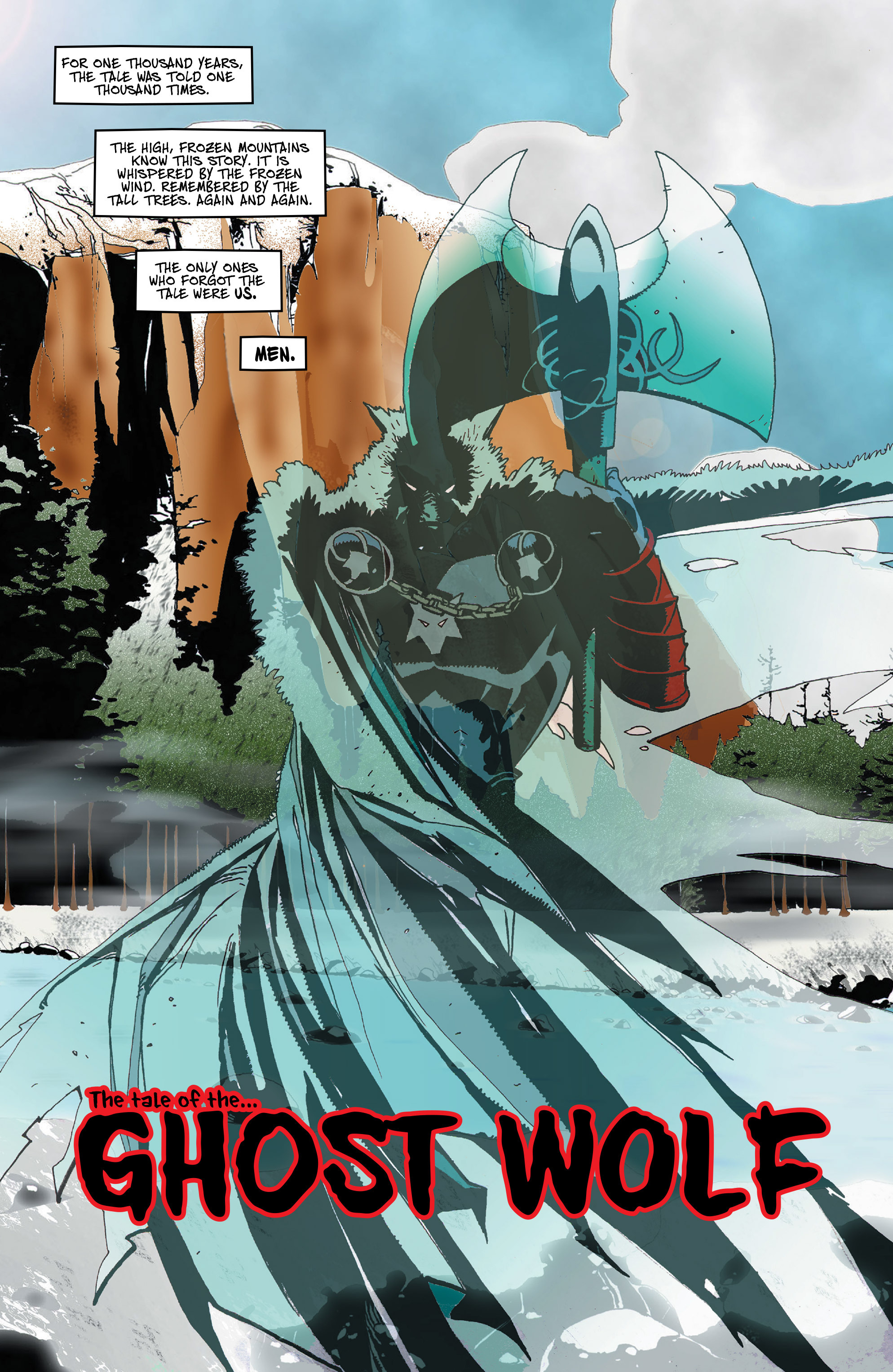 Read online Ghost Wolf comic -  Issue #1 - 9