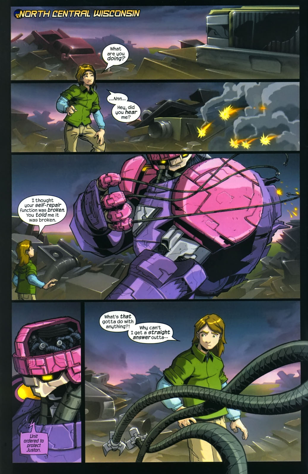 Read online Sentinel (2006) comic -  Issue #4 - 3