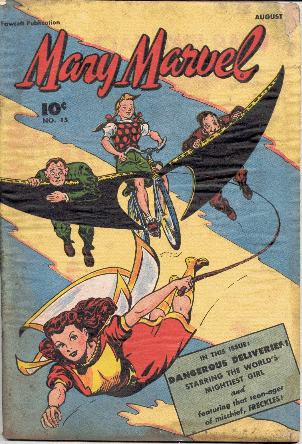 Mary Marvel issue 15 - Page 1