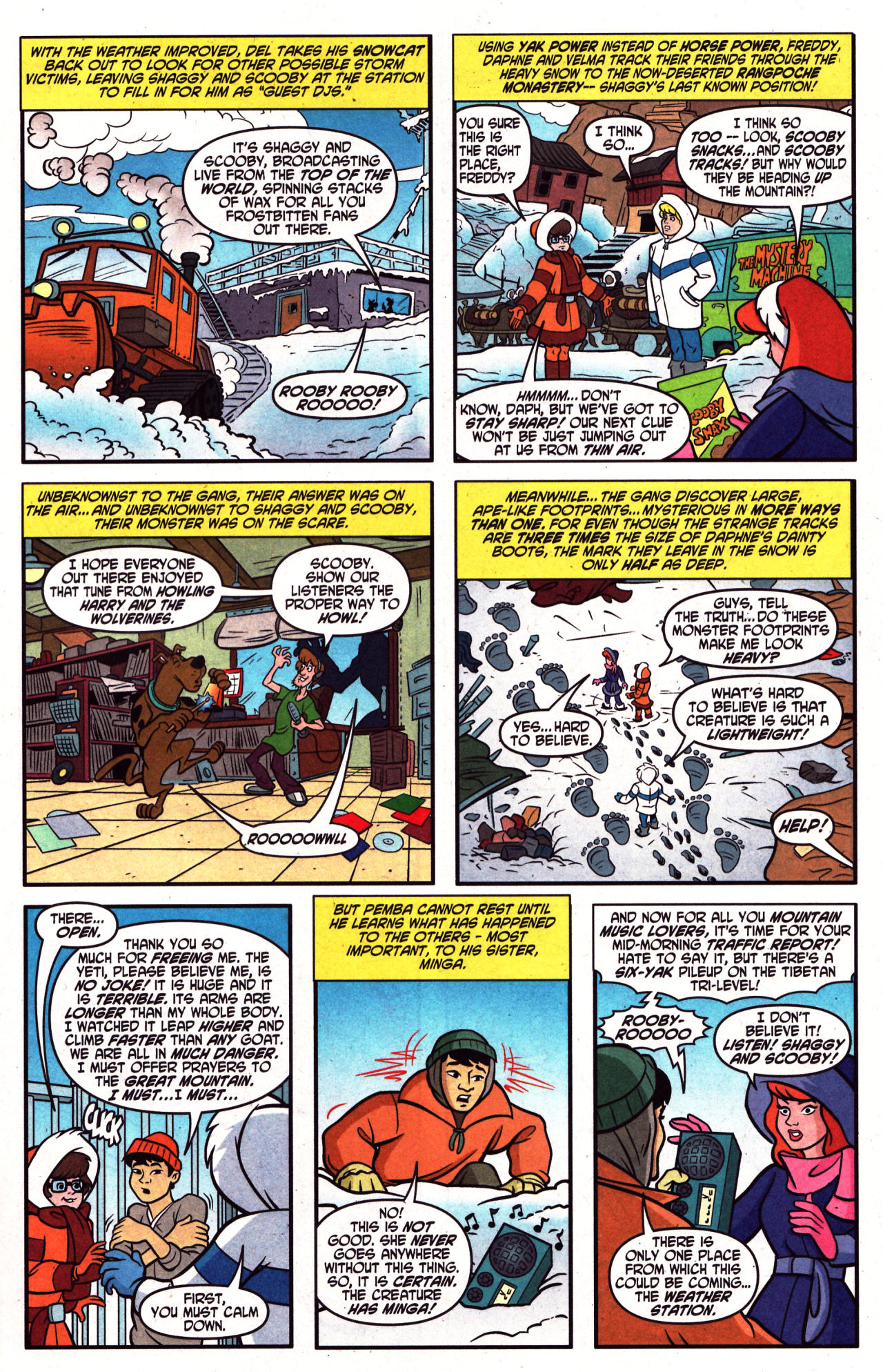Read online Scooby-Doo (1997) comic -  Issue #124 - 11