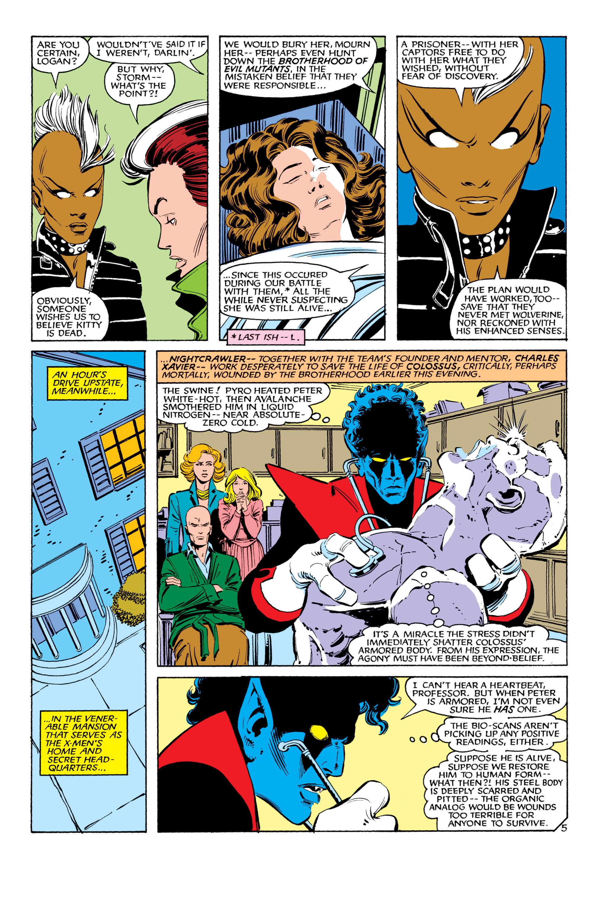 Read online Uncanny X-Men (1963) comic -  Issue #179 - 6