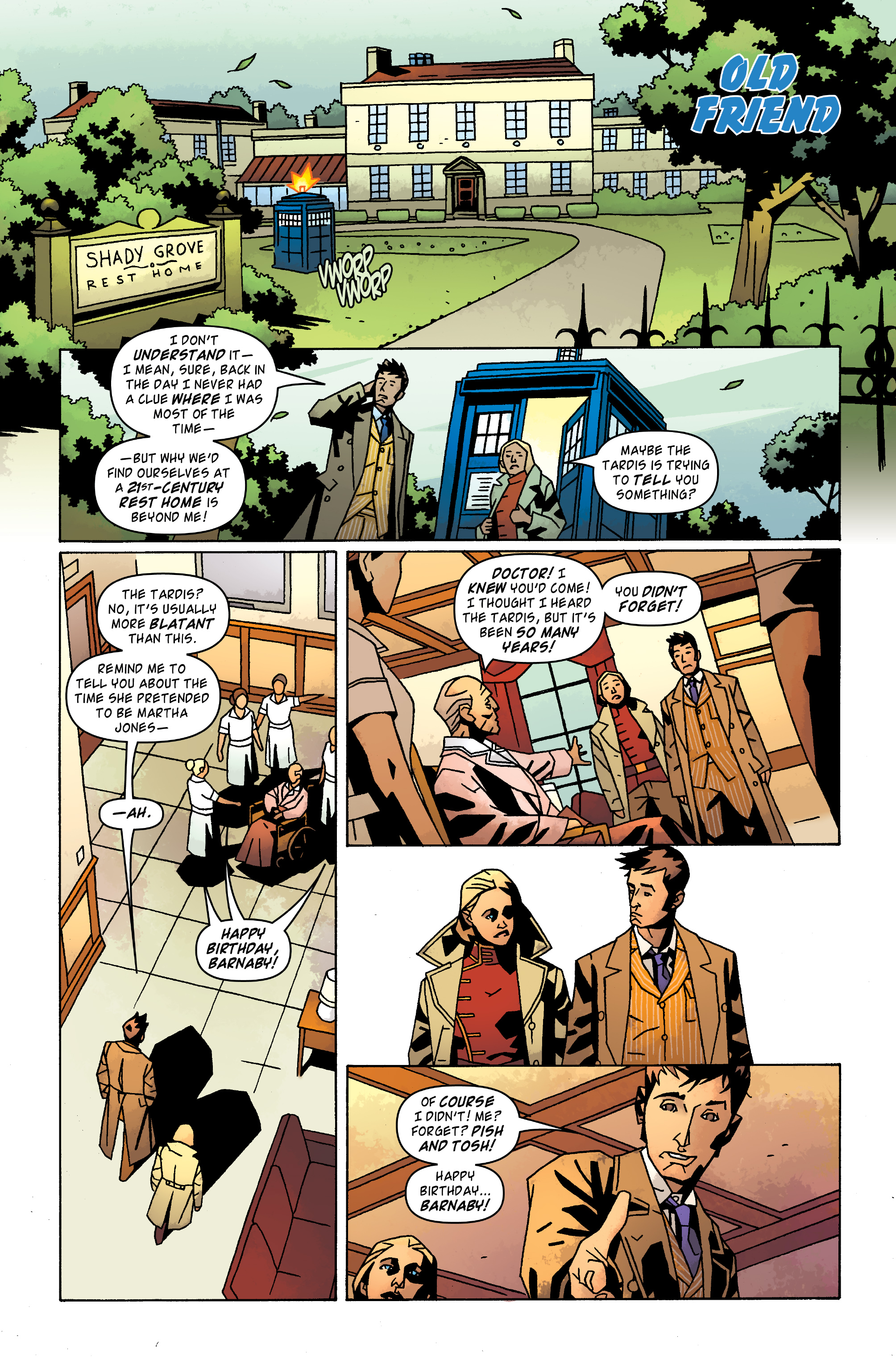 Read online Doctor Who: The Tenth Doctor Archives comic -  Issue #31 - 3