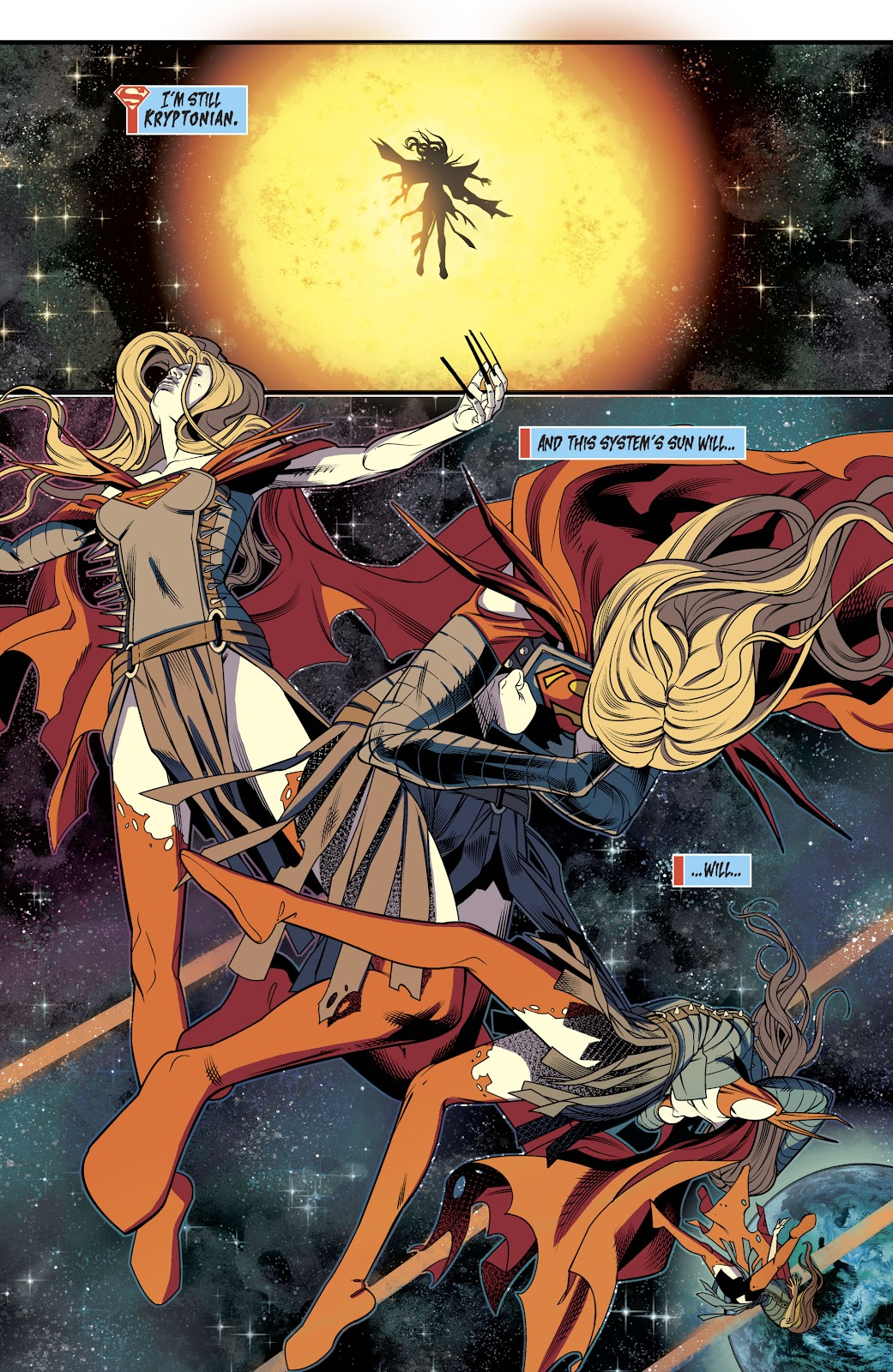 Read online Supergirl (2016) comic -  Issue #40 - 21