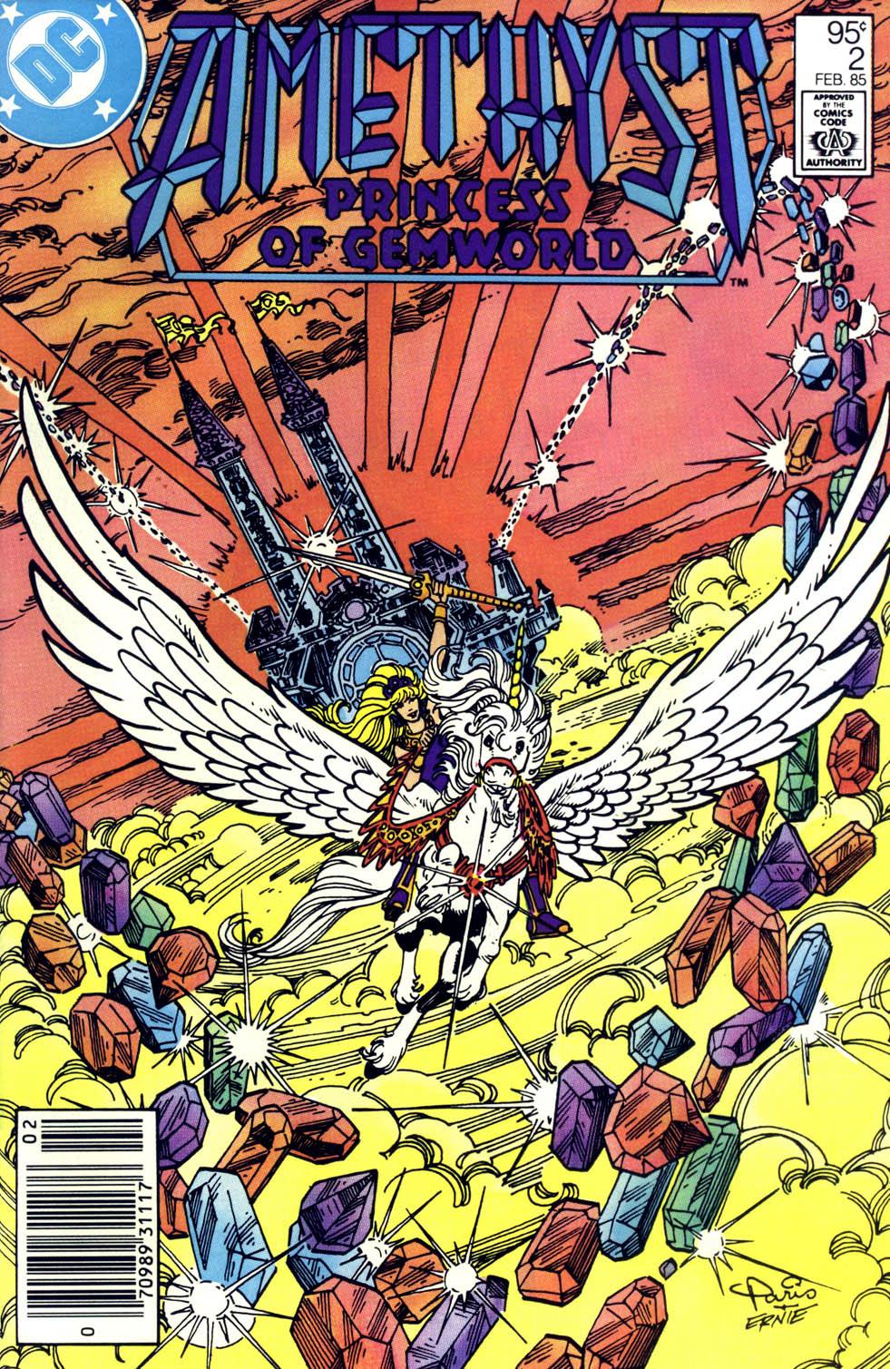 Read online Amethyst (1985) comic -  Issue #2 - 1