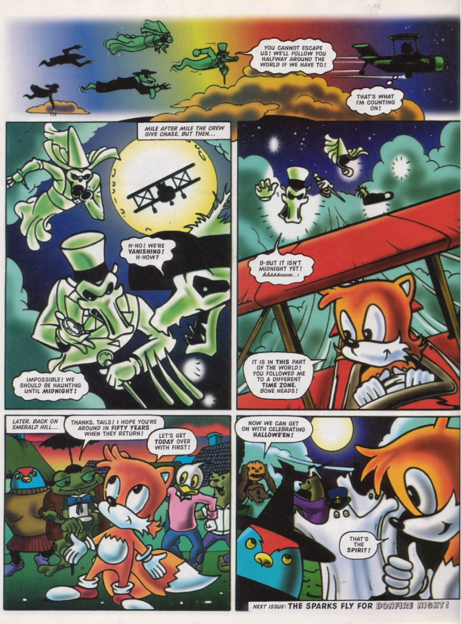 Read online Sonic the Comic comic -  Issue #141 - 20