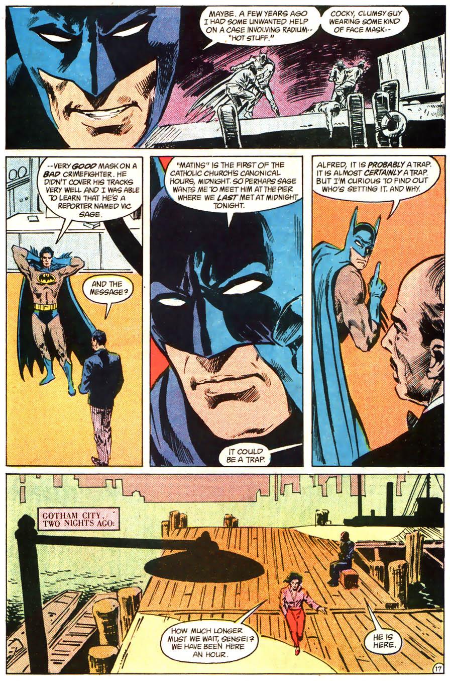 Read online Detective Comics (1937) comic -  Issue # _Annual 1 - 18