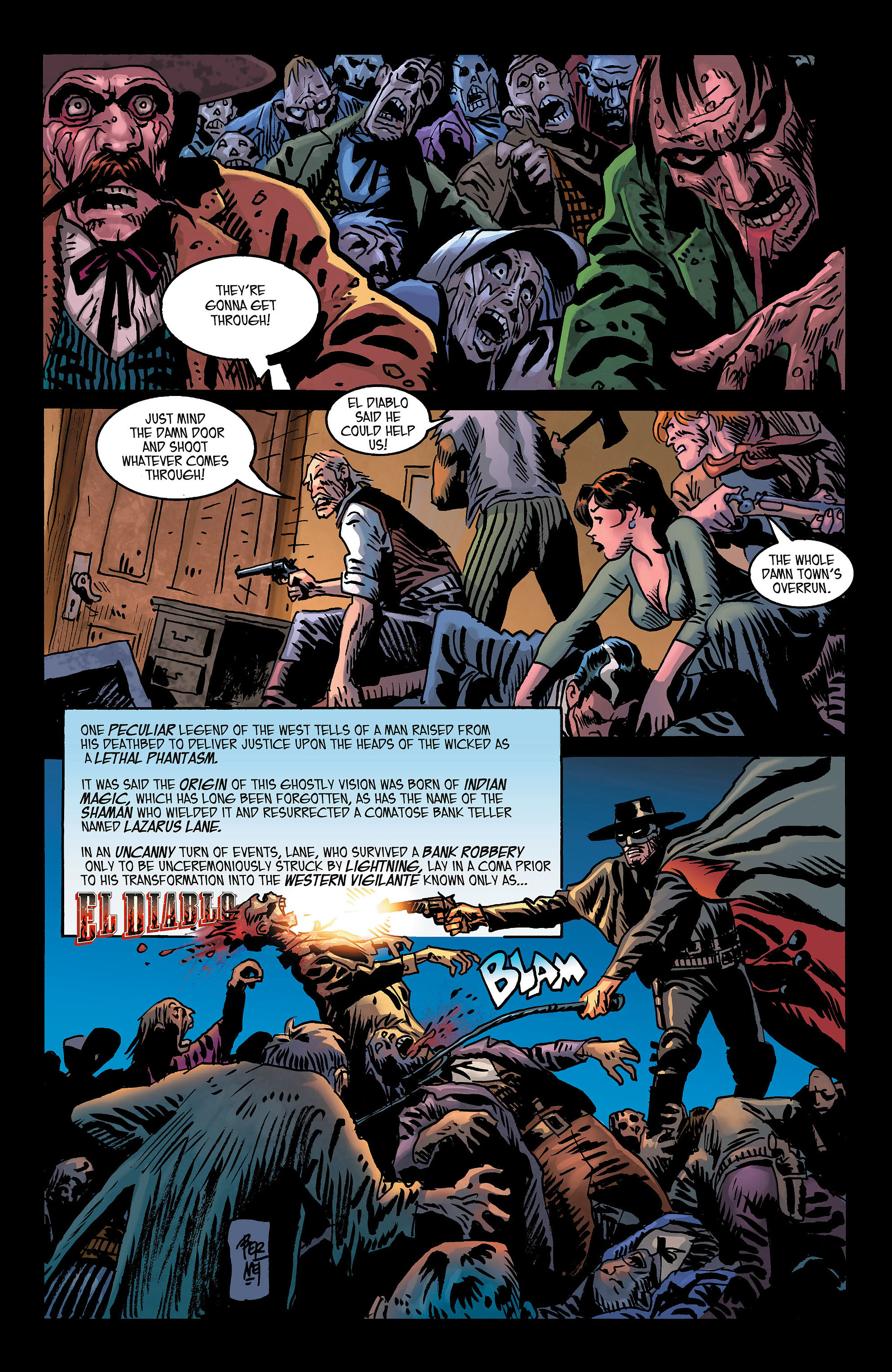 Read online All-Star Western (2011) comic -  Issue #3 - 20
