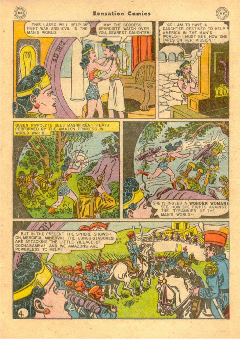 Read online Sensation (Mystery) Comics comic -  Issue #70 - 5