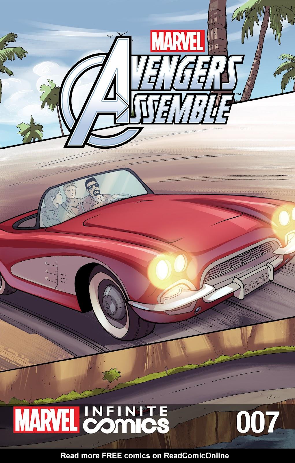 Marvel Universe Avengers Infinite Comic 7 Page 1