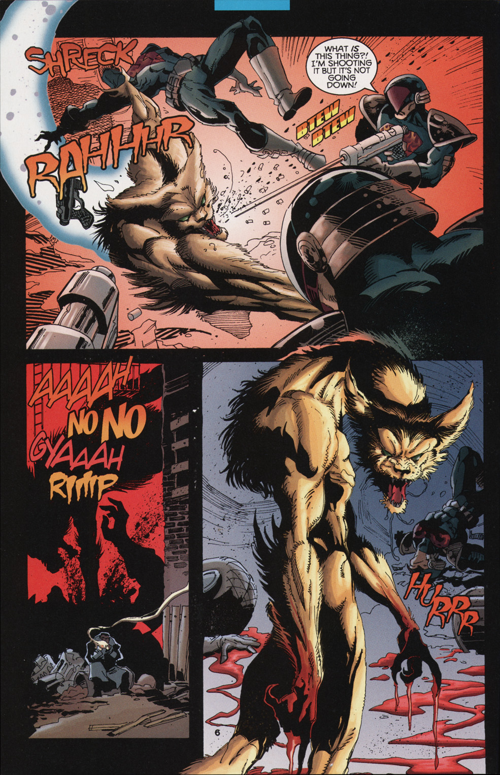 Read online Tangent Comics/ Nightwing comic -  Issue # Full - 6