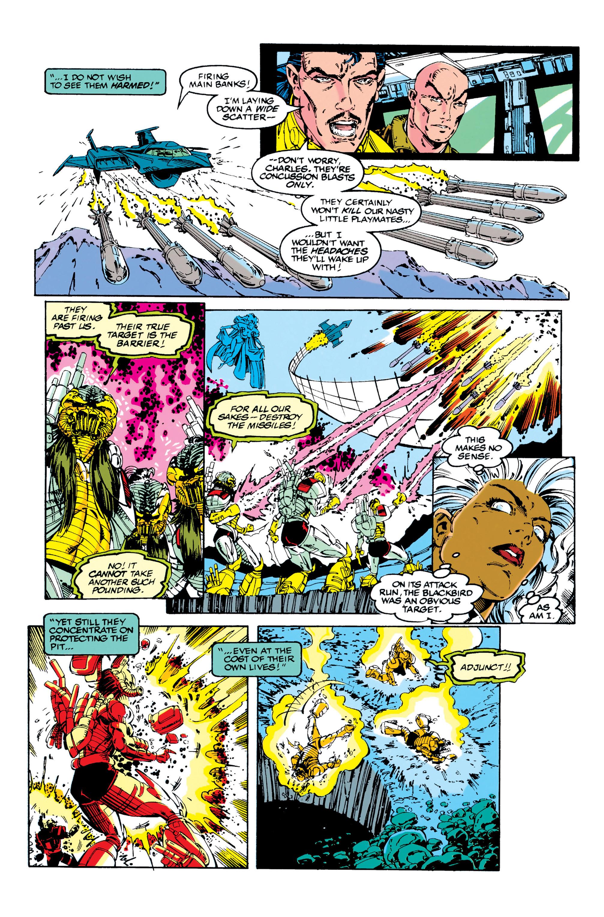 Read online Uncanny X-Men (1963) comic -  Issue #284 - 15