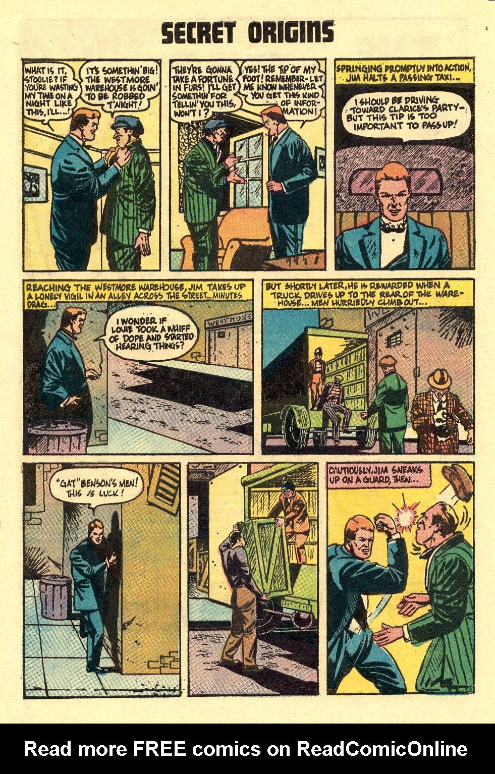 Read online Secret Origins (1973) comic -  Issue #5 - 4