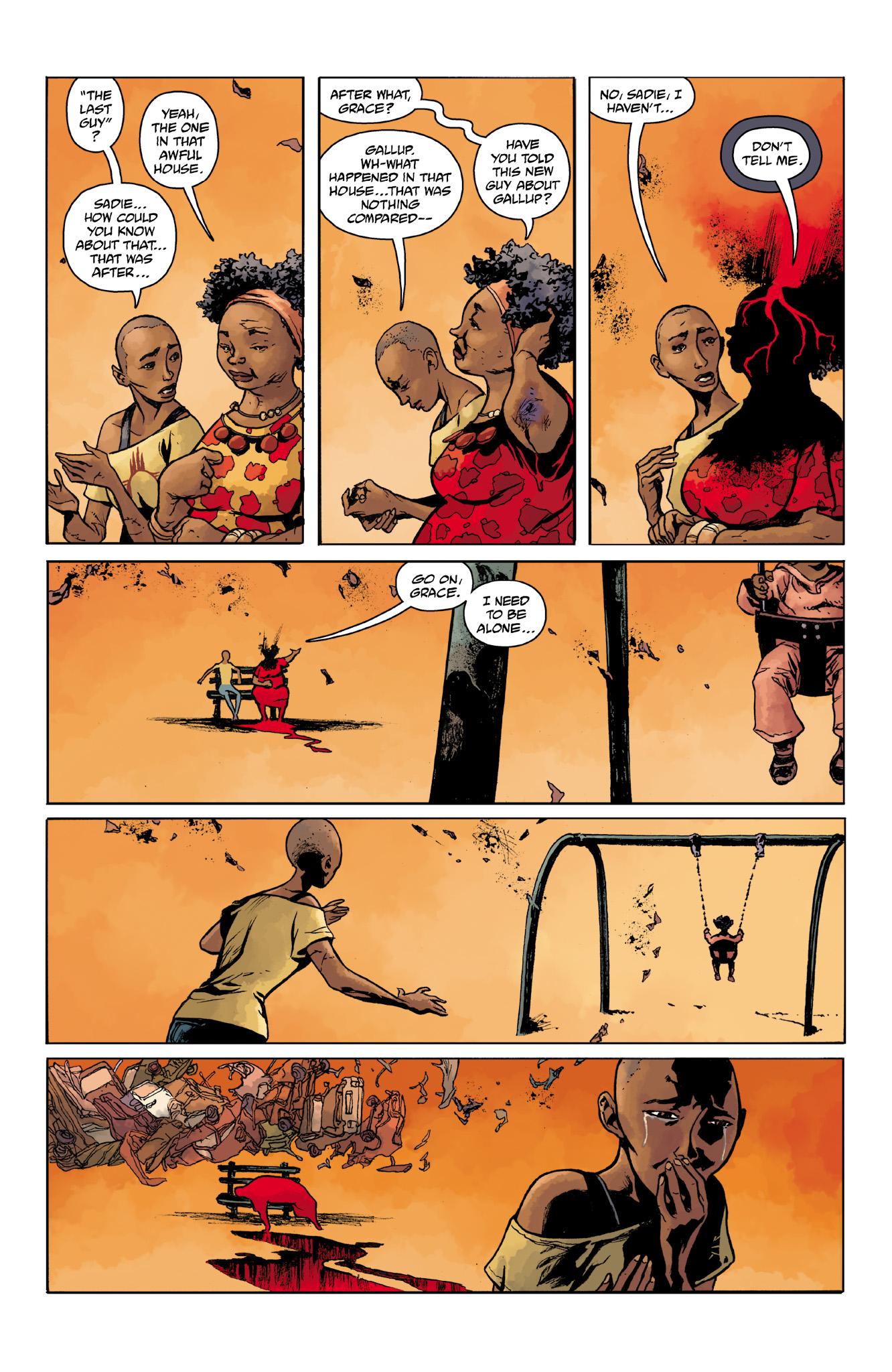 Read online Abe Sapien comic -  Issue #14 - 19