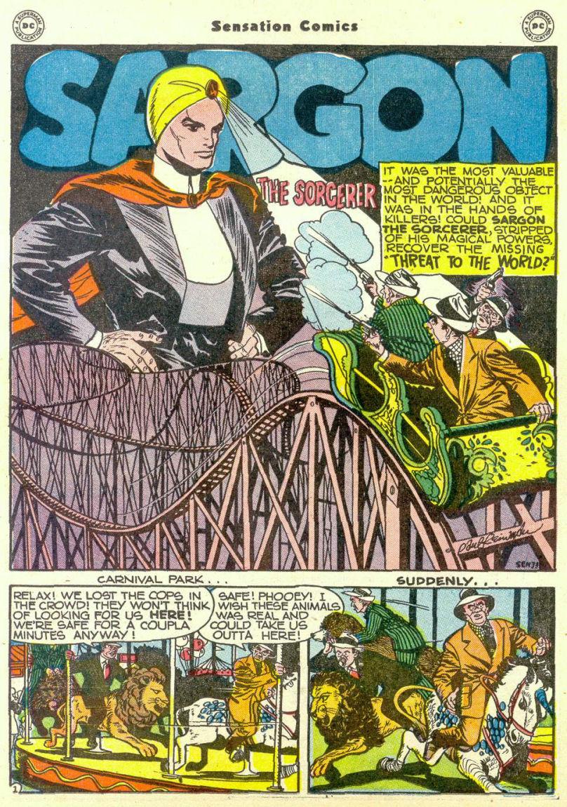 Read online Sensation (Mystery) Comics comic -  Issue #67 - 32