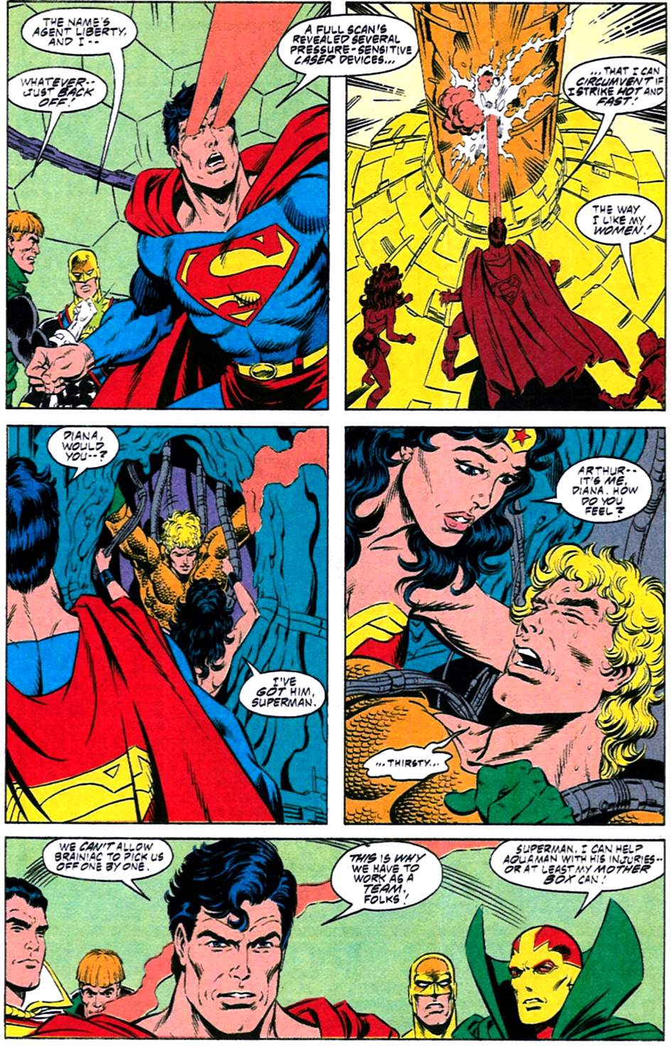 Read online Adventures of Superman (1987) comic -  Issue #488 - 10