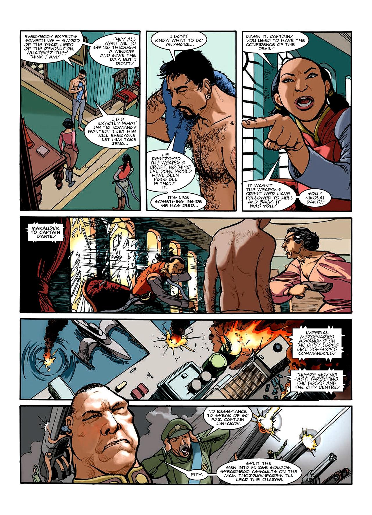 Read online Nikolai Dante comic -  Issue # TPB 10 - 149