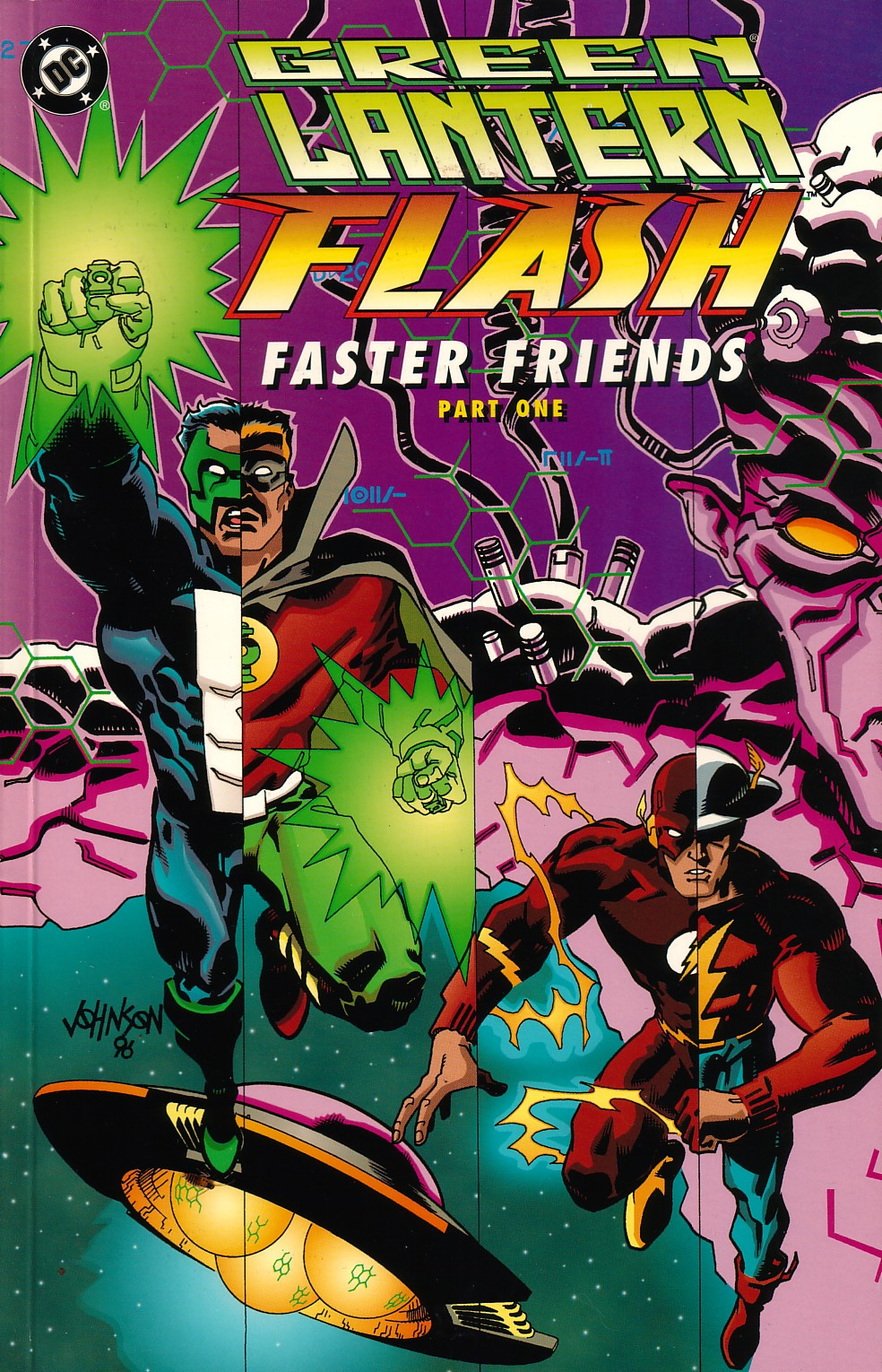 Green Lantern/Flash: Faster Friends Full Page 1
