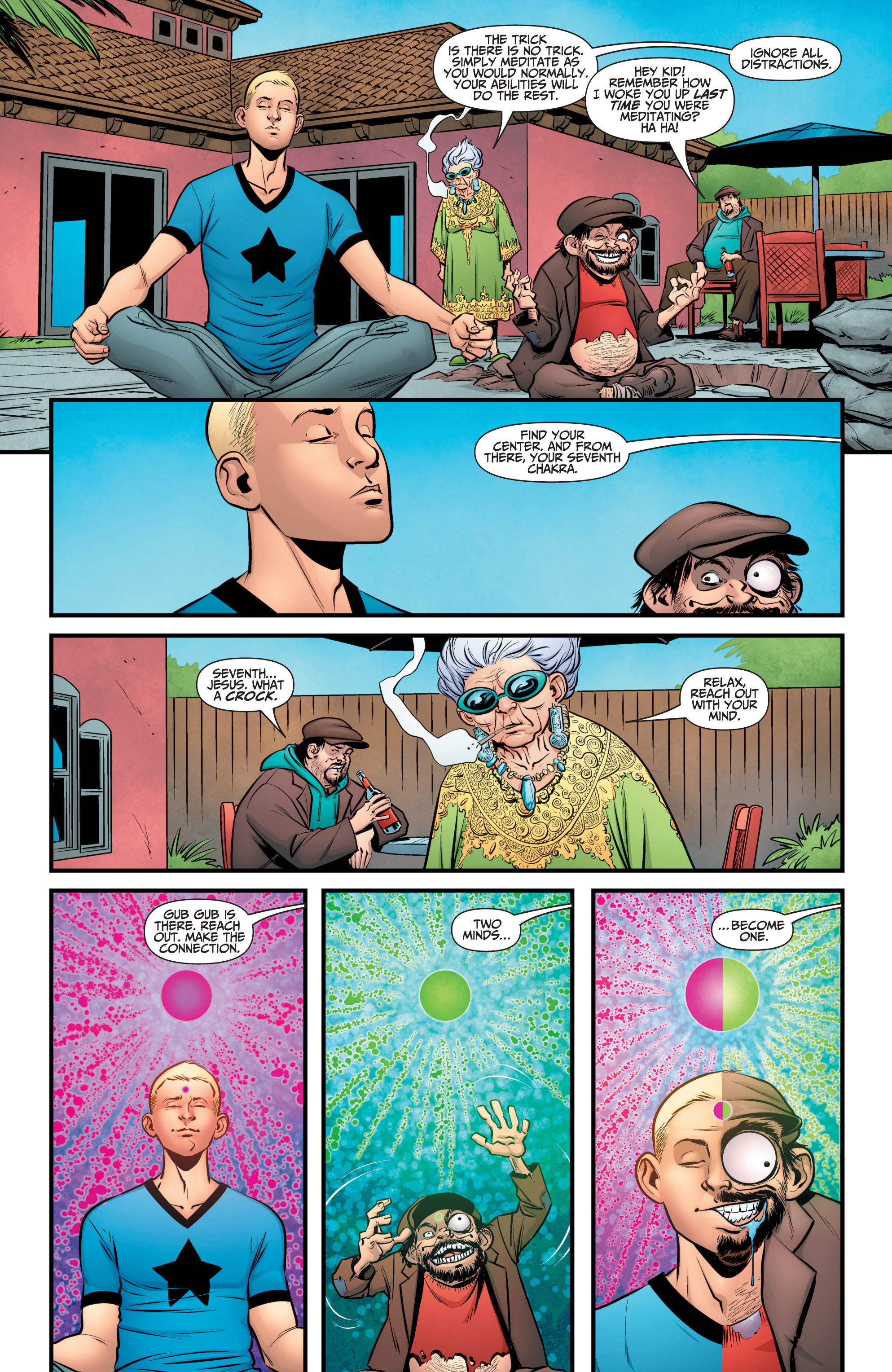 Read online A&A: The Adventures of Archer & Armstrong comic -  Issue #10 - 15