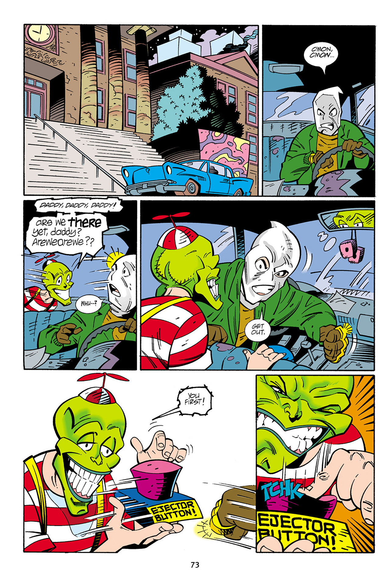 Read online Adventures Of The Mask Omnibus comic -  Issue #Adventures Of The Mask Omnibus Full - 73