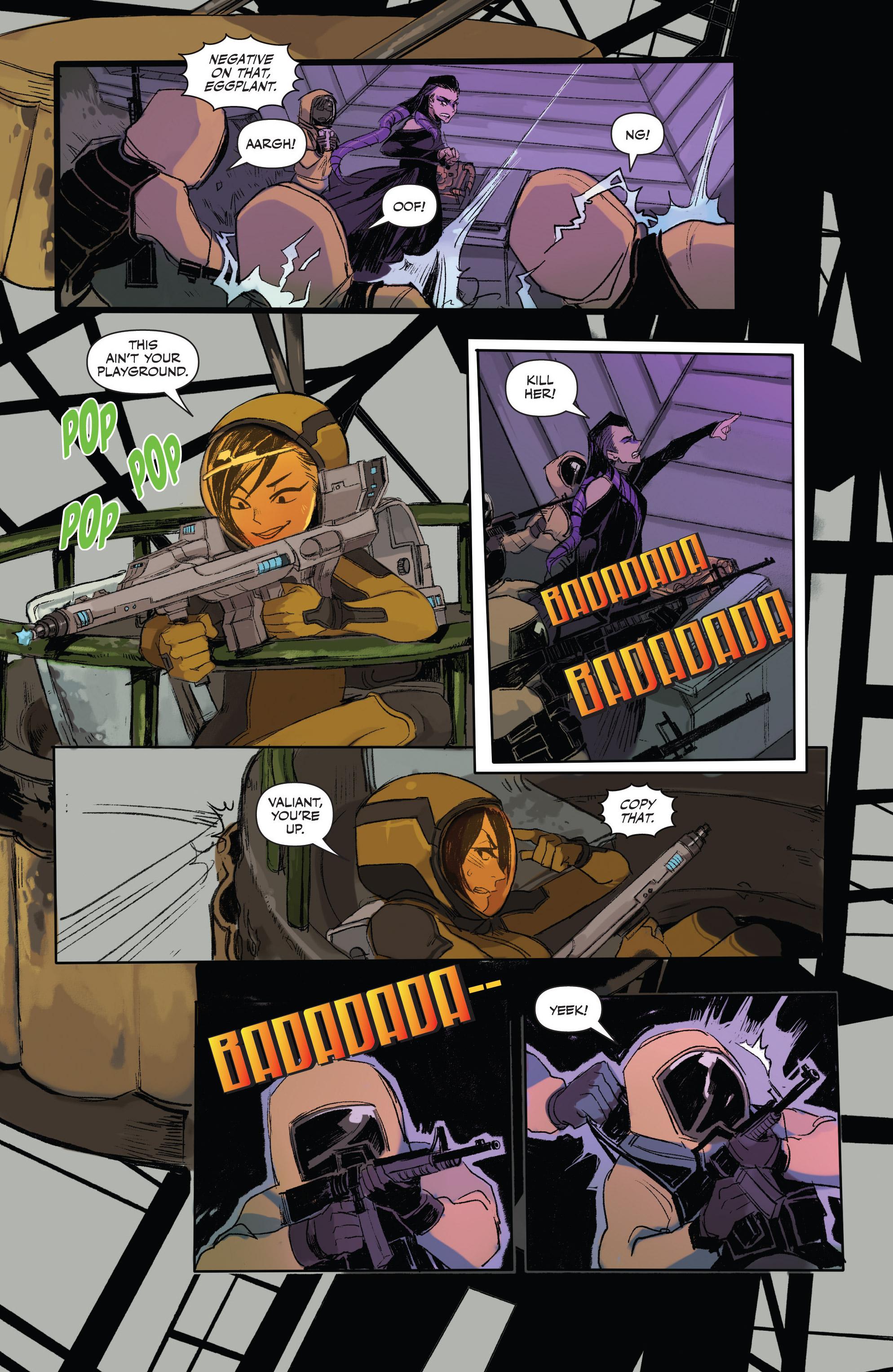 Read online Freelance comic -  Issue #3 - 19