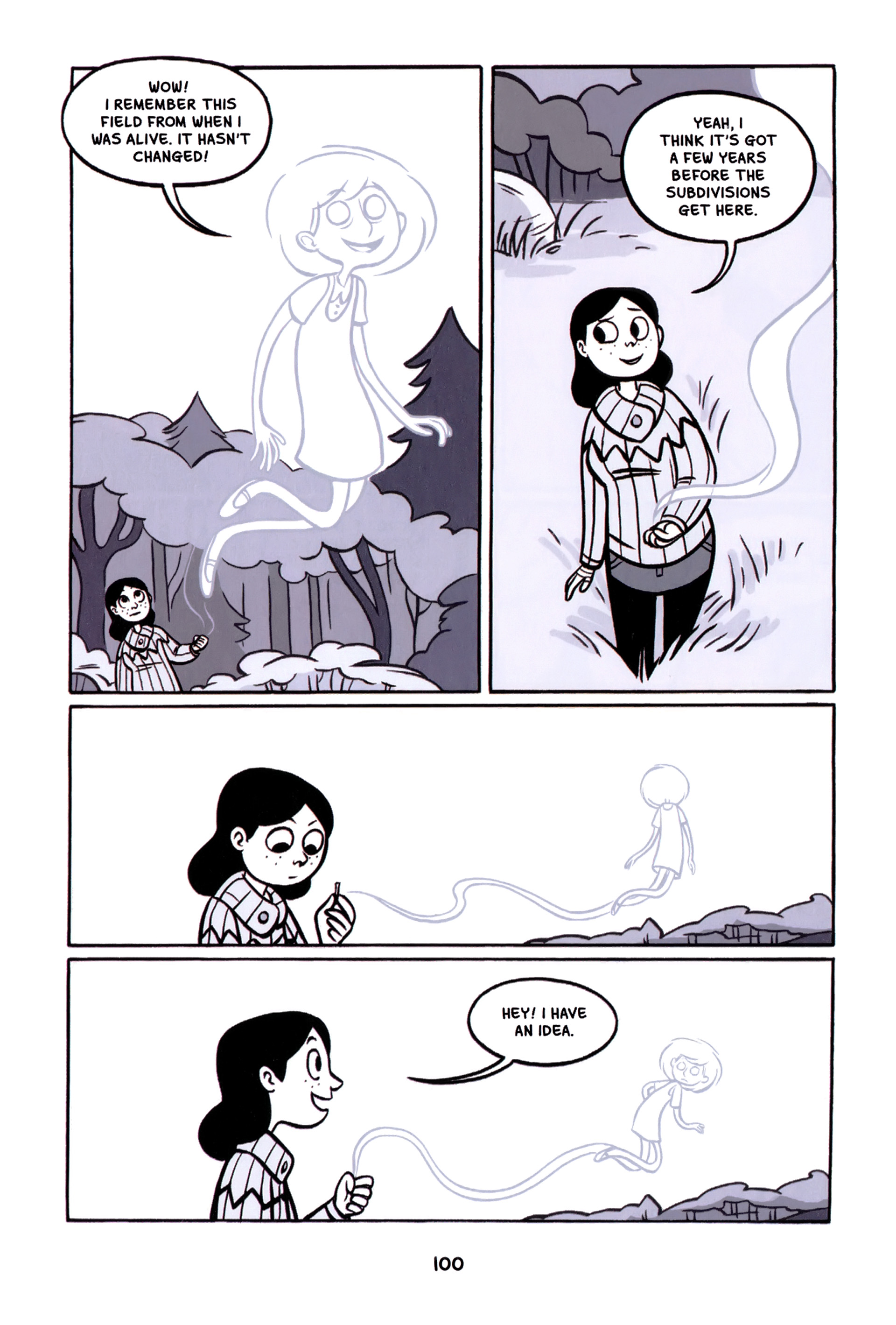 Read online Anya's Ghost comic -  Issue #1 - 101