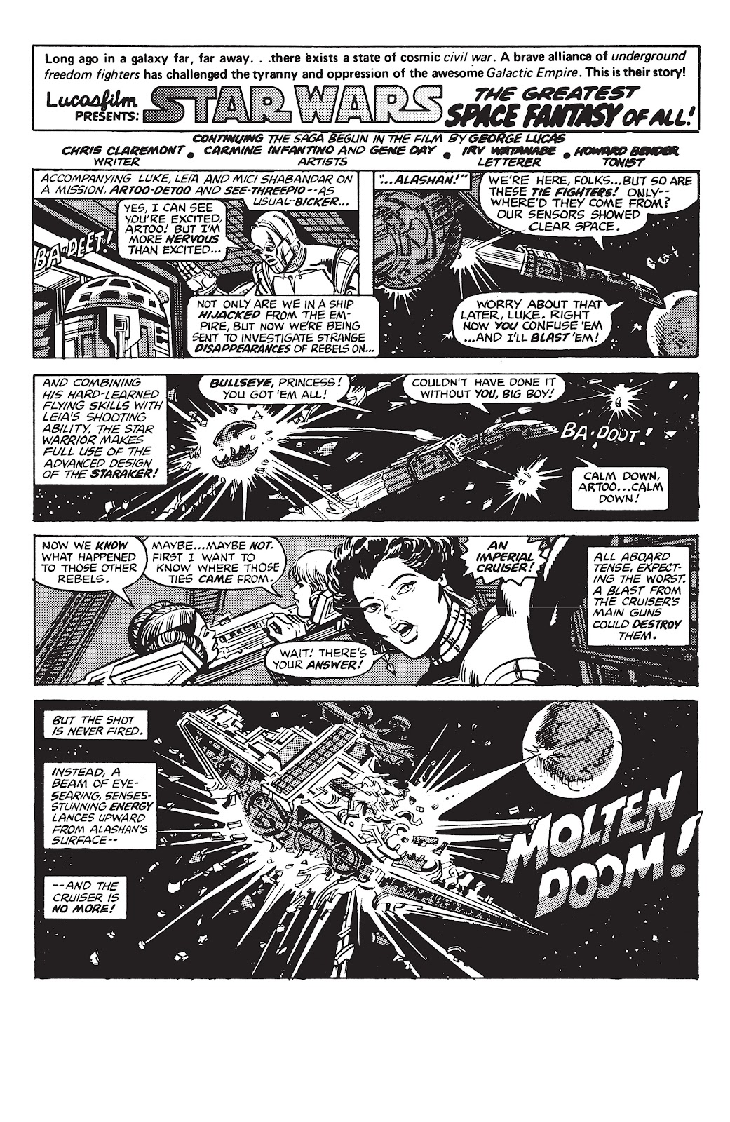 Read online Star Wars Legends: The Original Marvel Years - Epic Collection comic -  Issue # TPB 2 (Part 4) - 93