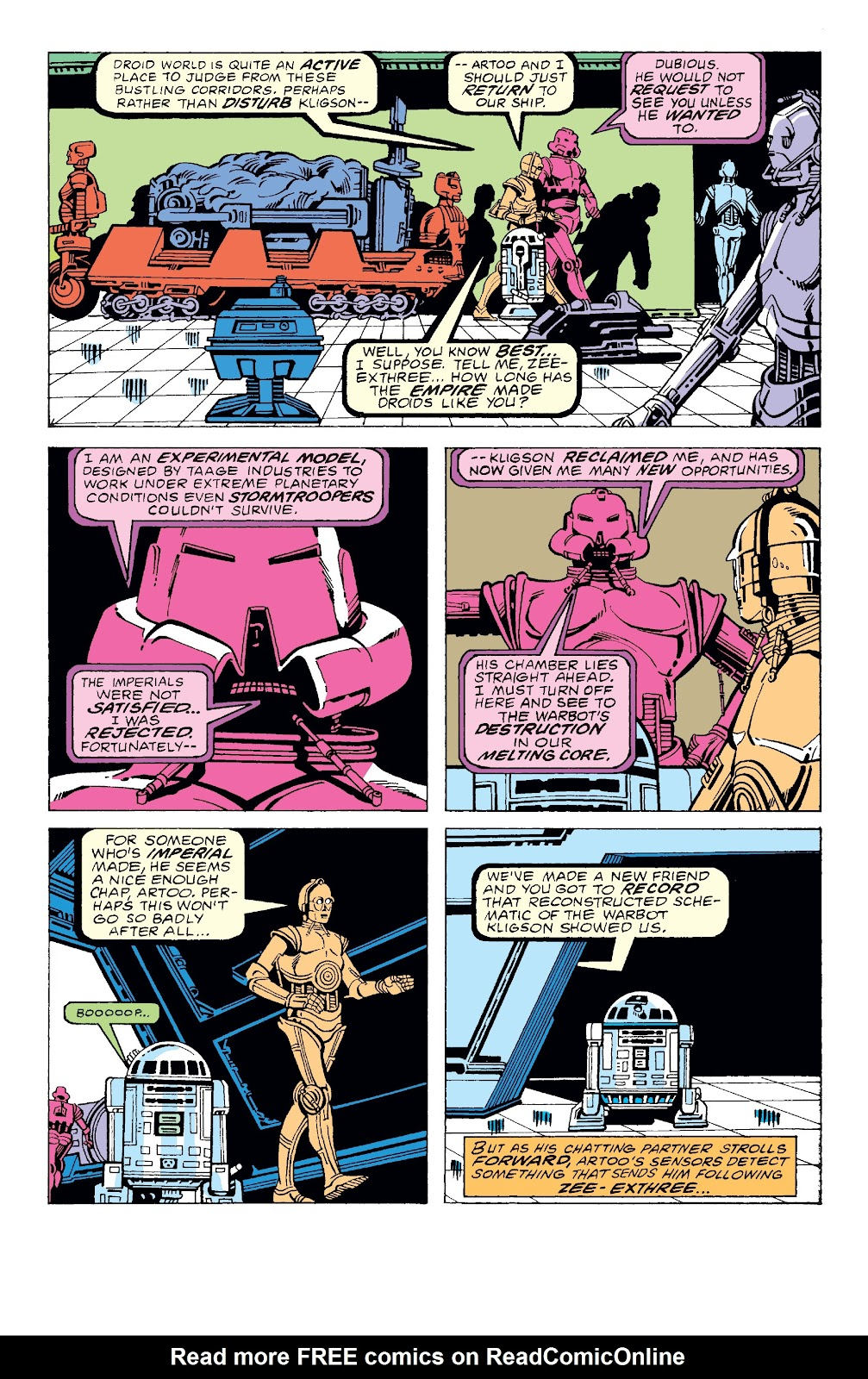Read online Star Wars Legends: The Original Marvel Years - Epic Collection comic -  Issue # TPB 3 (Part 2) - 70