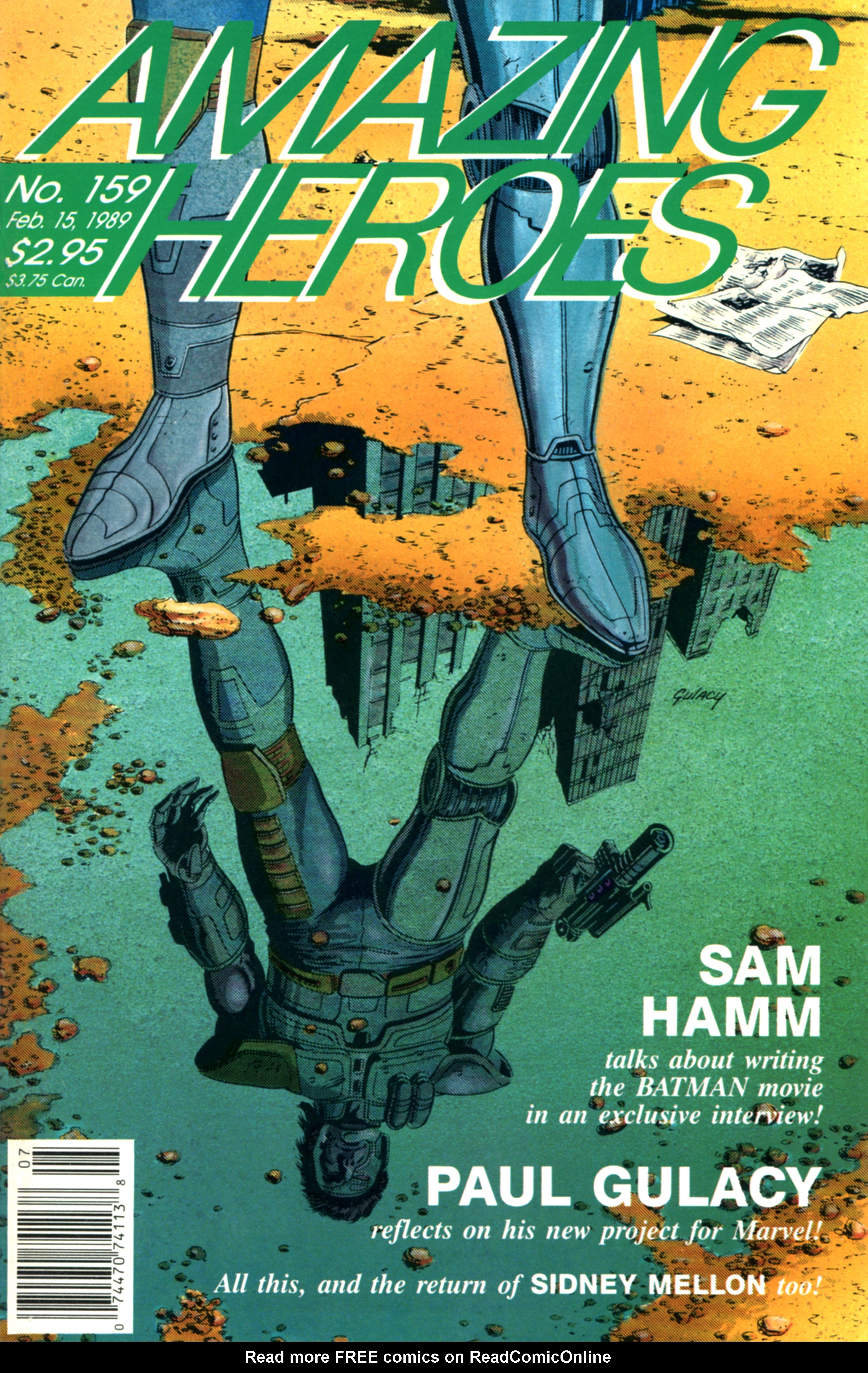 Read online Amazing Heroes comic -  Issue #159 - 1