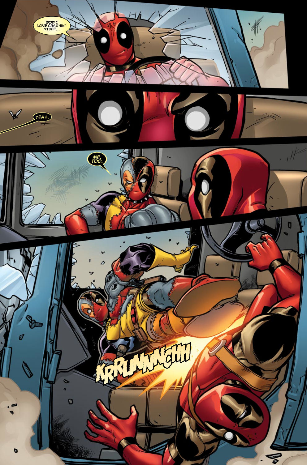 Read online Deadpool (2008) comic -  Issue #46 - 8
