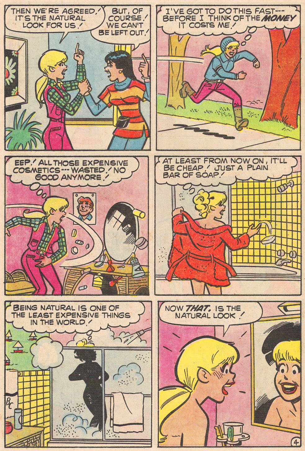 Read online Archie's Girls Betty and Veronica comic -  Issue #255 - 16