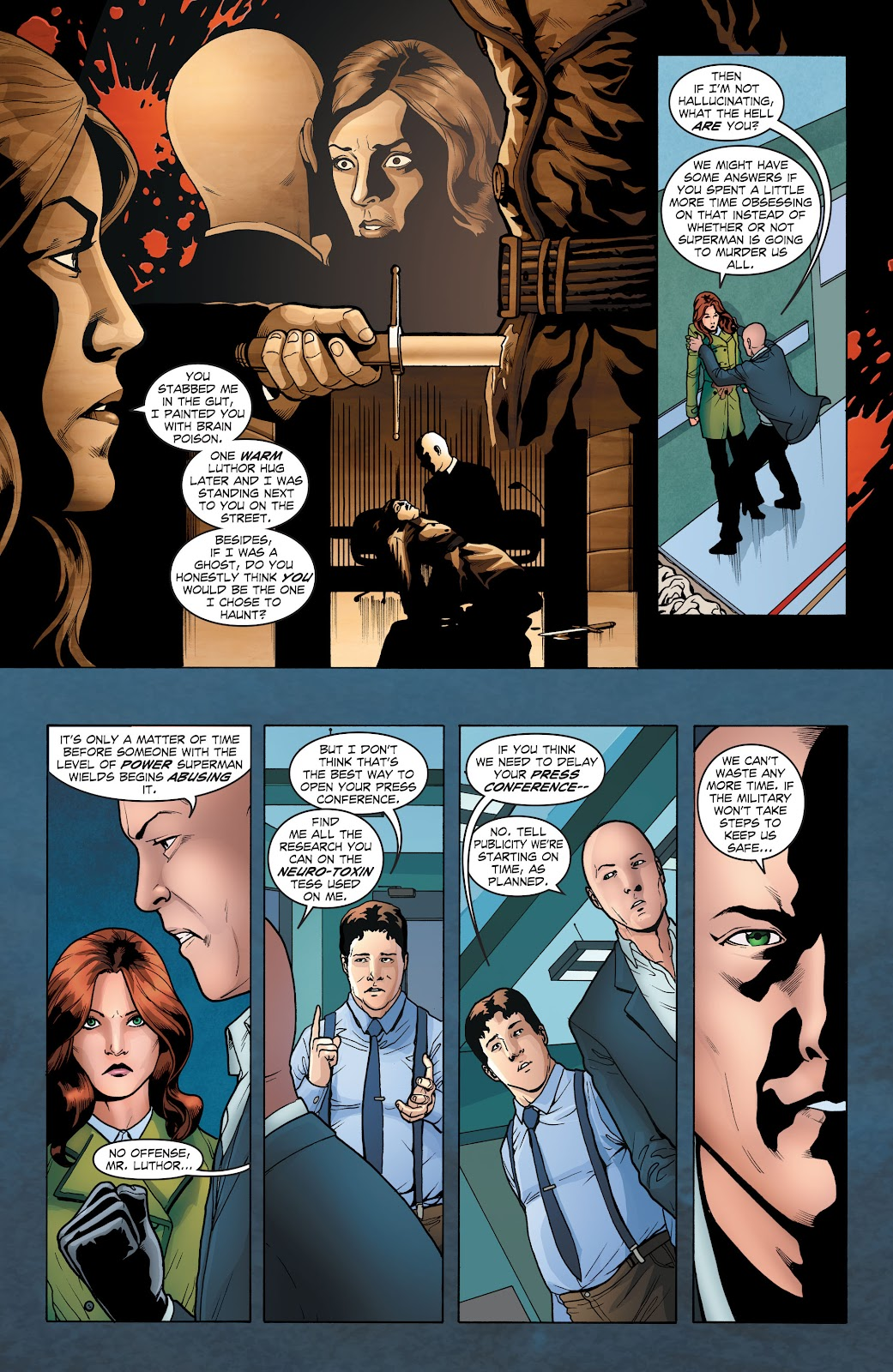 Read online Smallville Season 11 [II] comic -  Issue # TPB 1 - 41