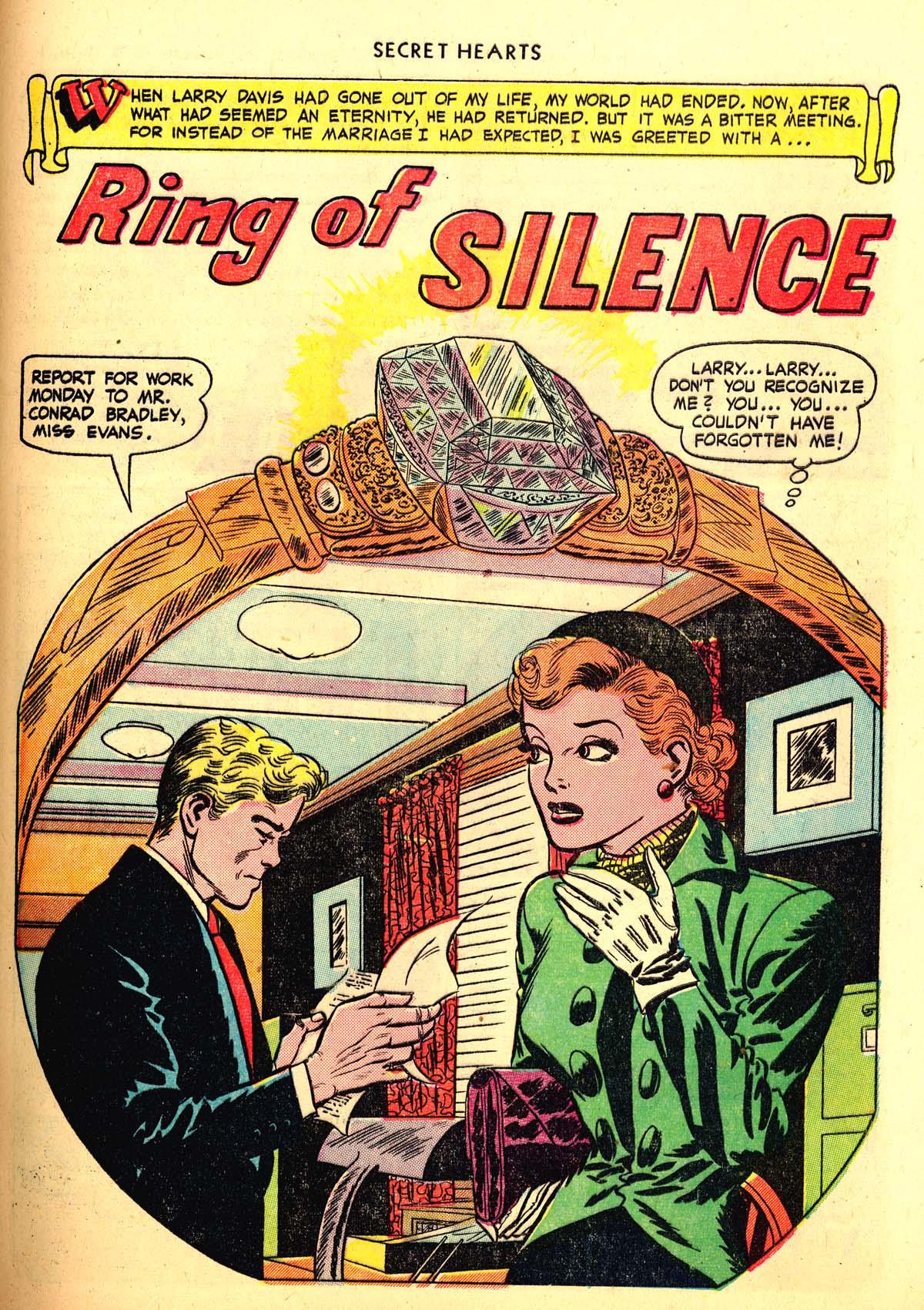 Read online Secret Hearts comic -  Issue #6 - 41