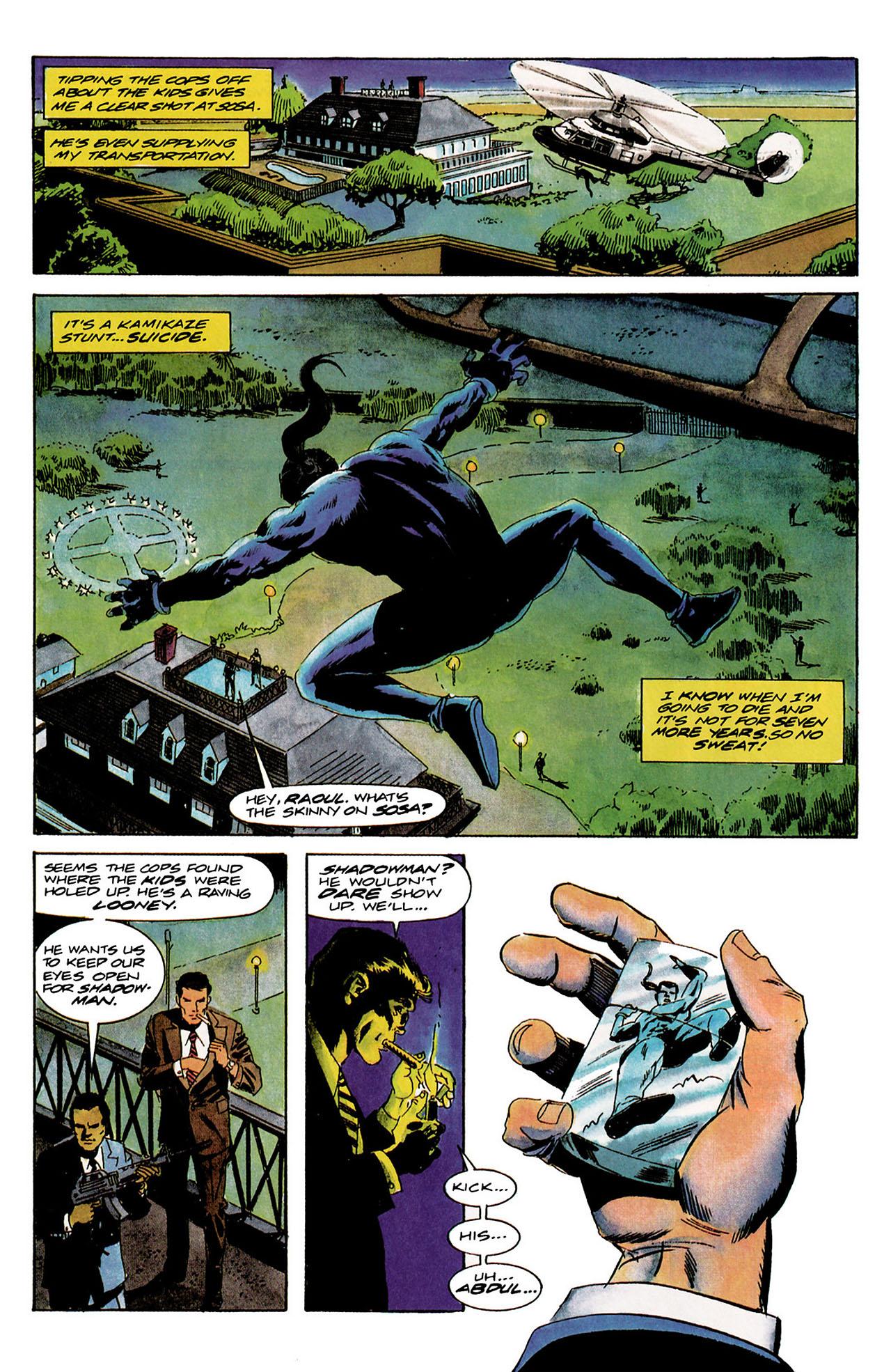 Read online Shadowman (1992) comic -  Issue #9 - 16