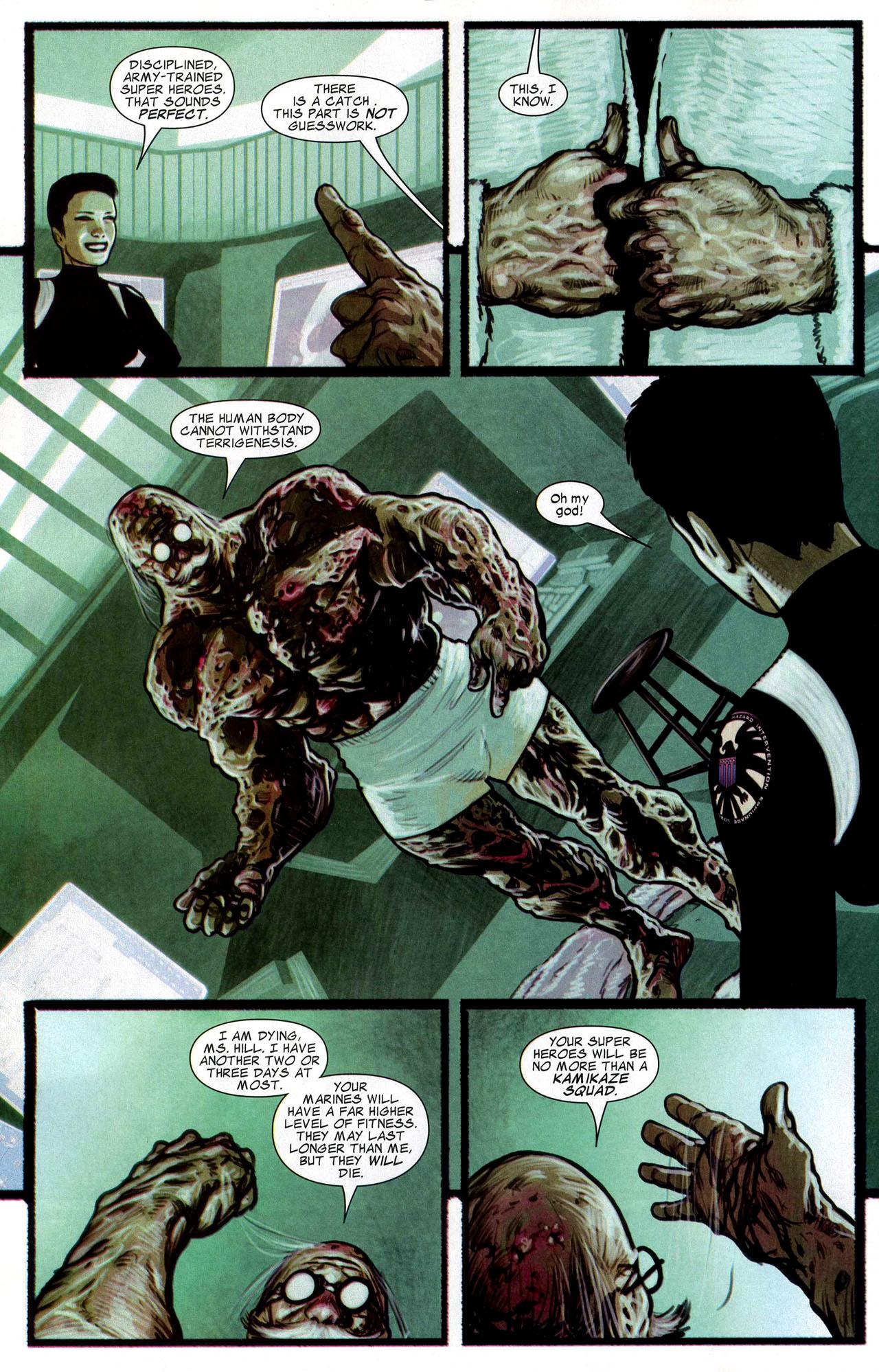 Read online Silent War comic -  Issue #4 - 17