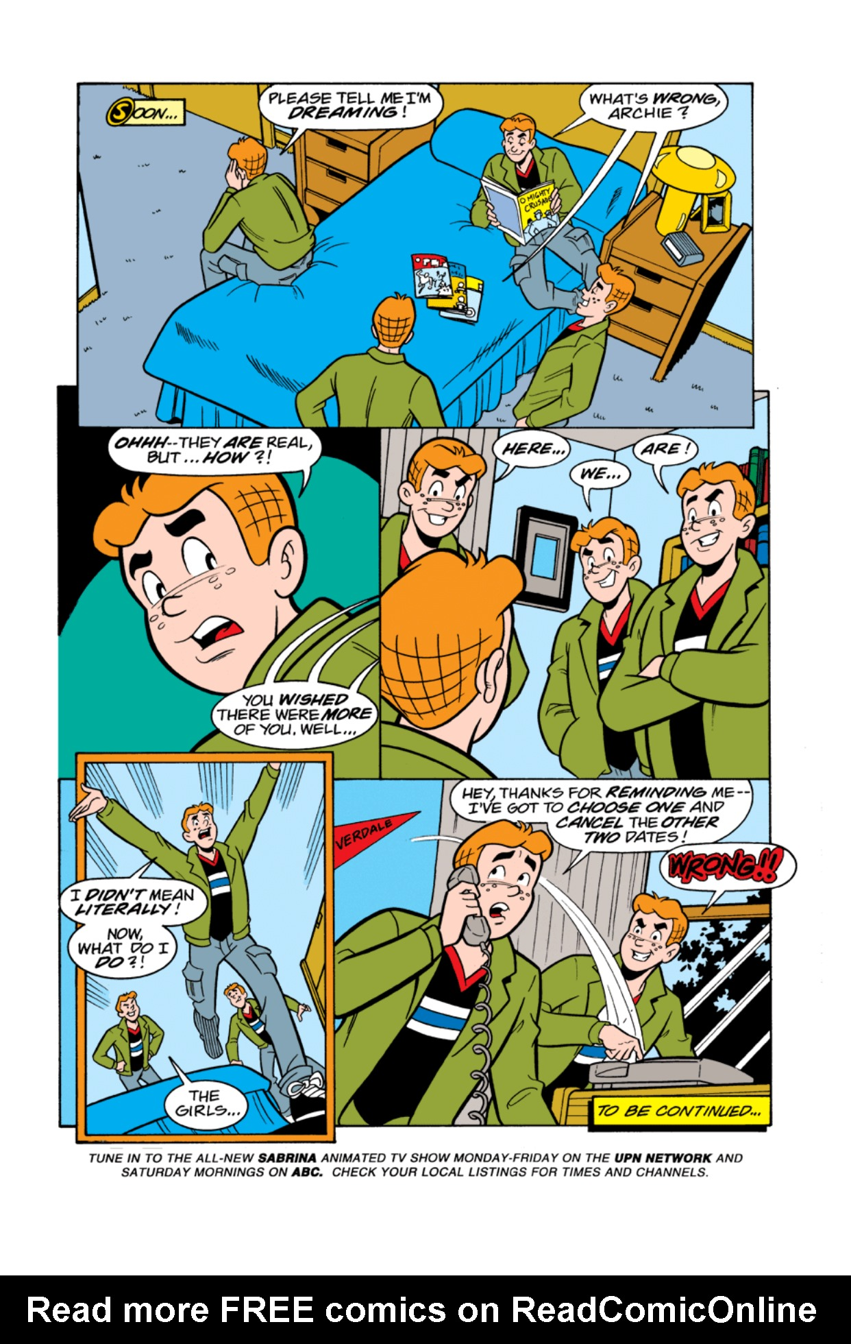 Read online Archie's Weird Mysteries comic -  Issue #4 - 7