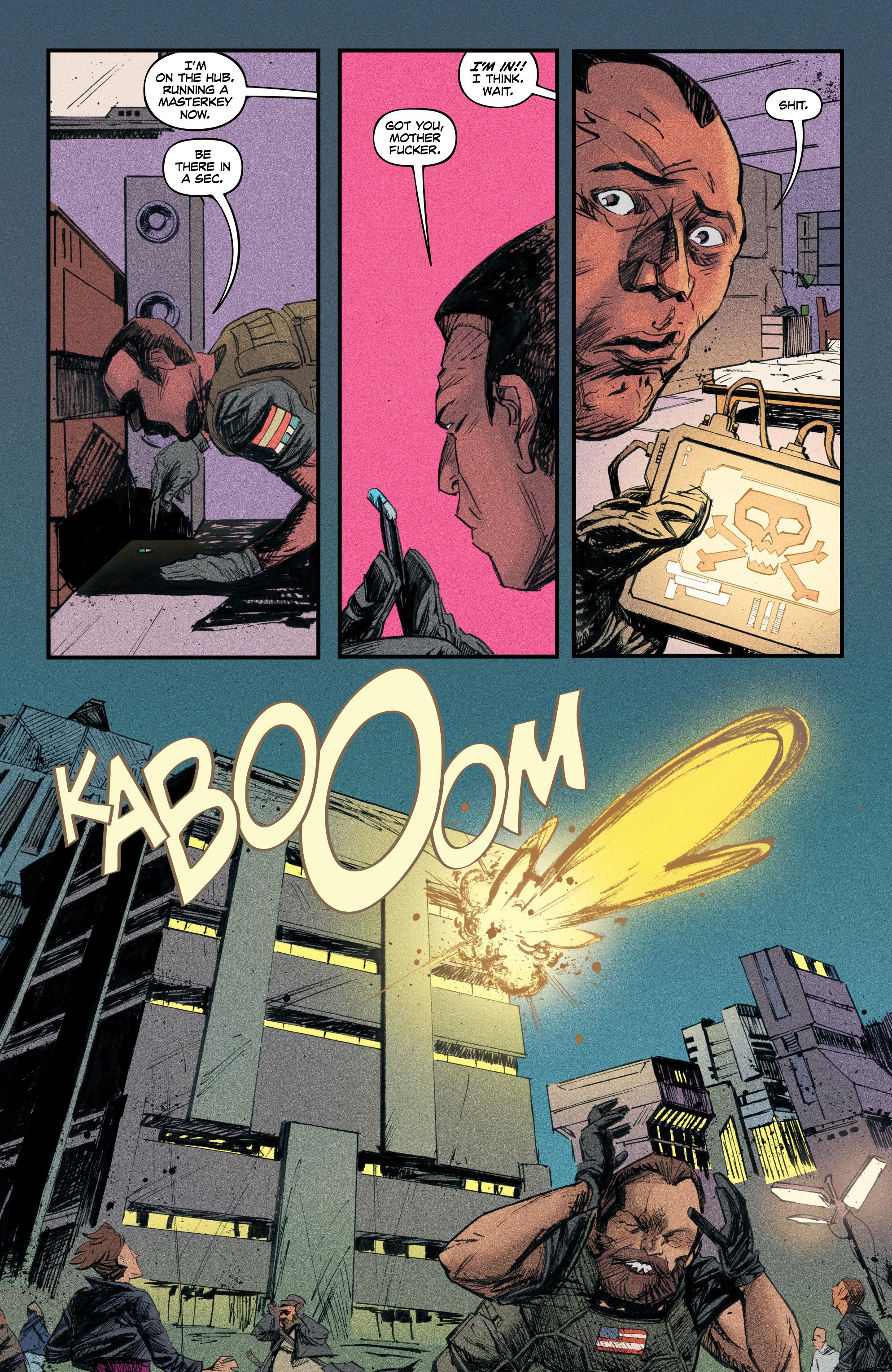 Read online Redline comic -  Issue #4 - 24
