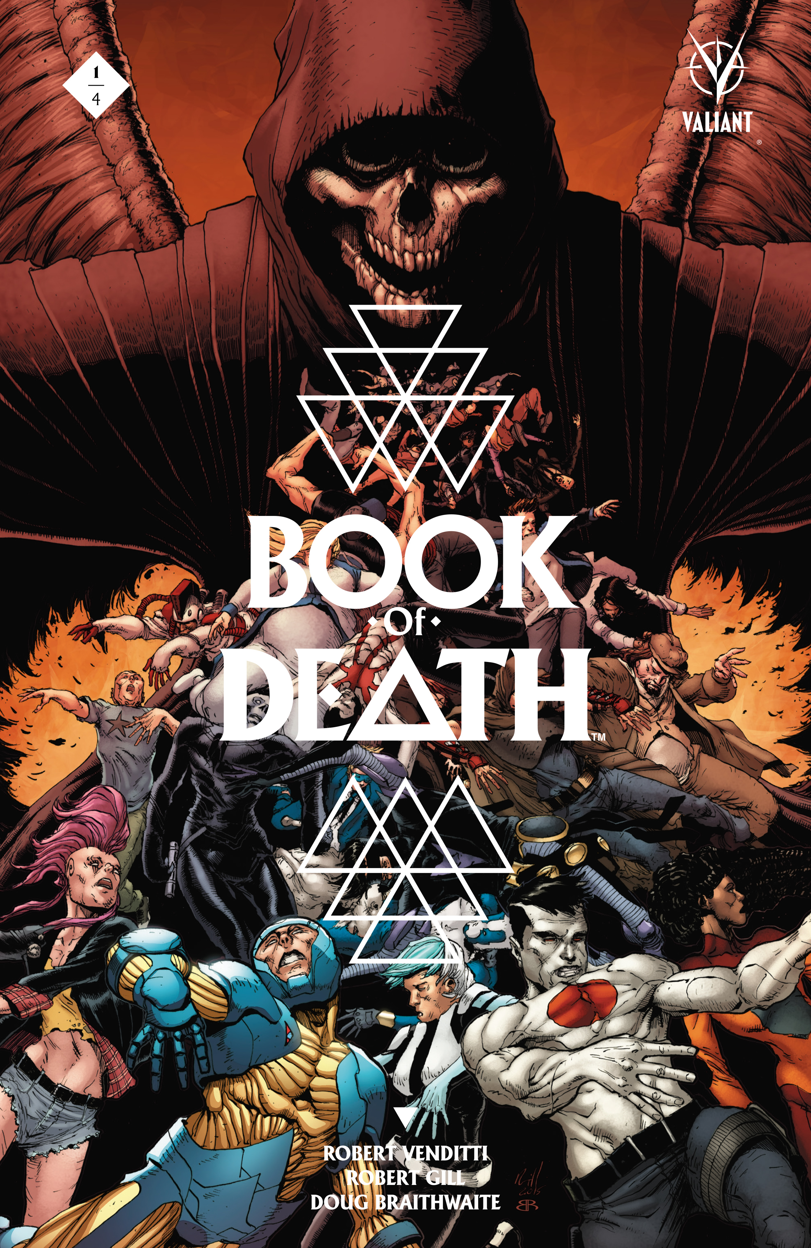 Book of Death Issue 1