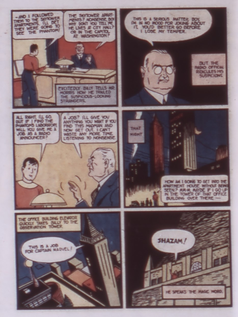 Read online WHIZ Comics comic -  Issue #1 - 10