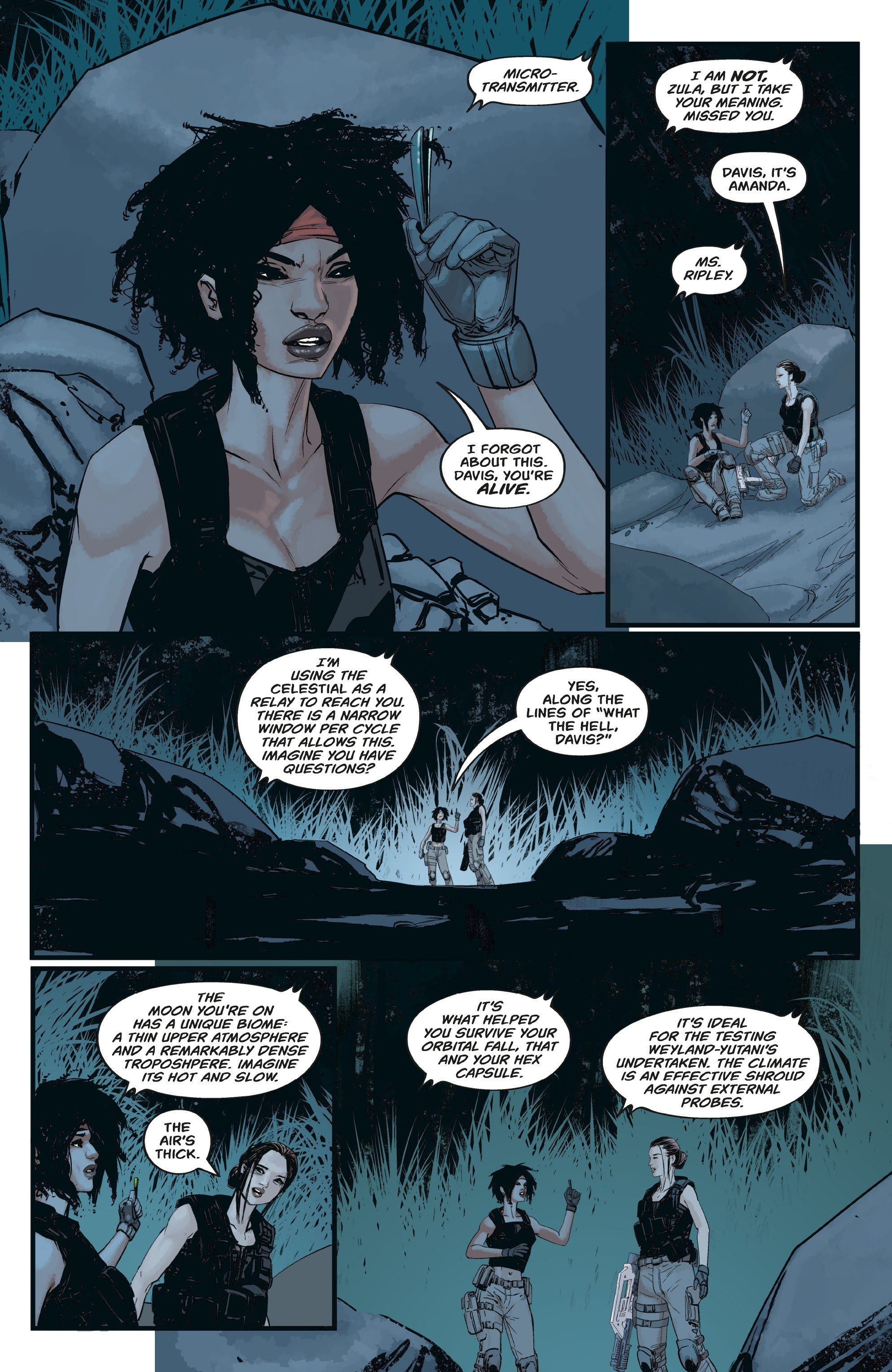 Aliens: Resistance issue 3 - Page 20