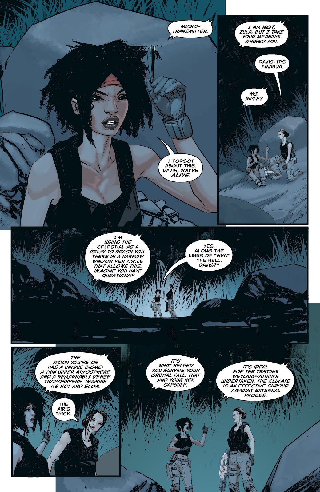 Read online Aliens: Resistance comic -  Issue #3 - 20
