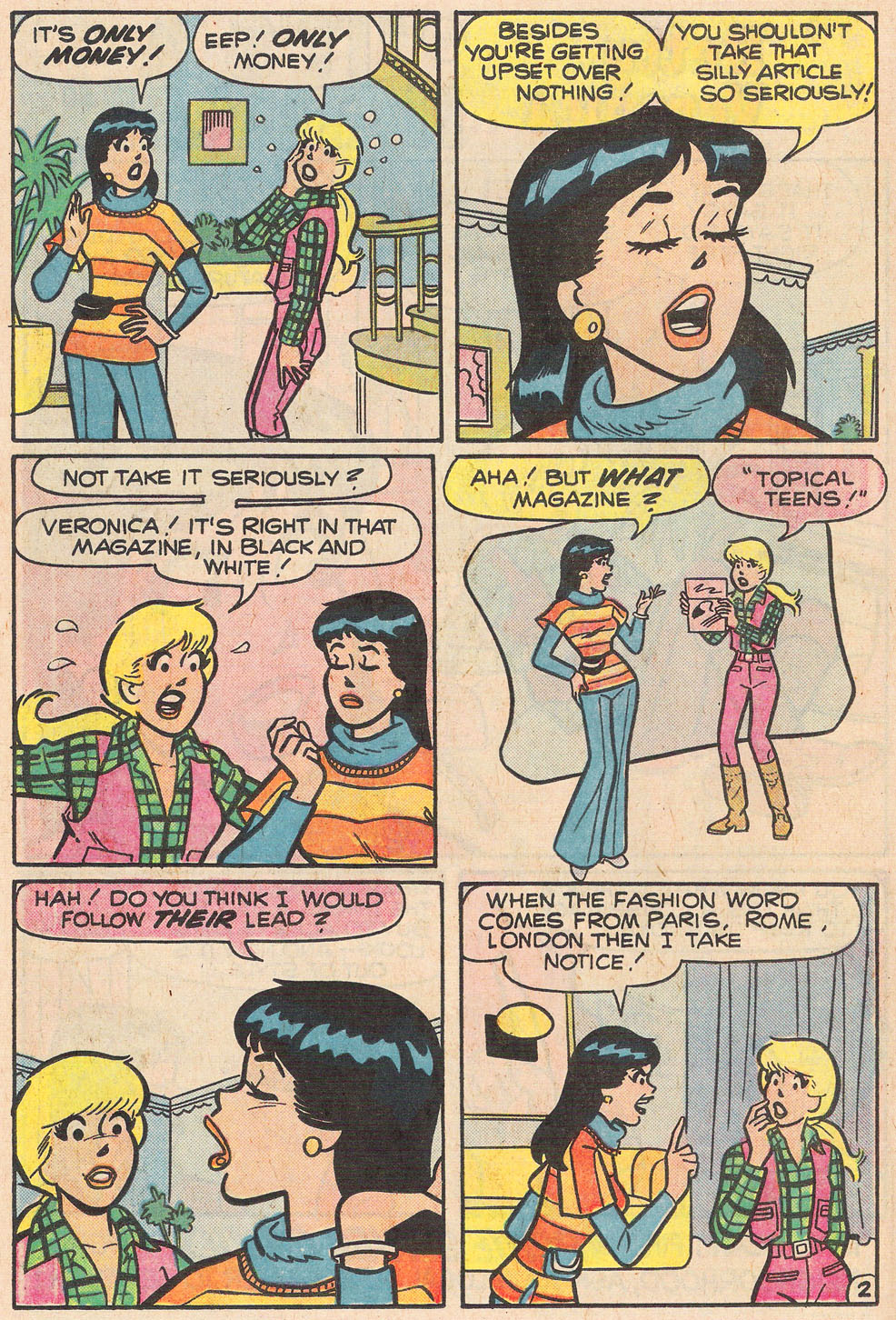 Read online Archie's Girls Betty and Veronica comic -  Issue #255 - 14