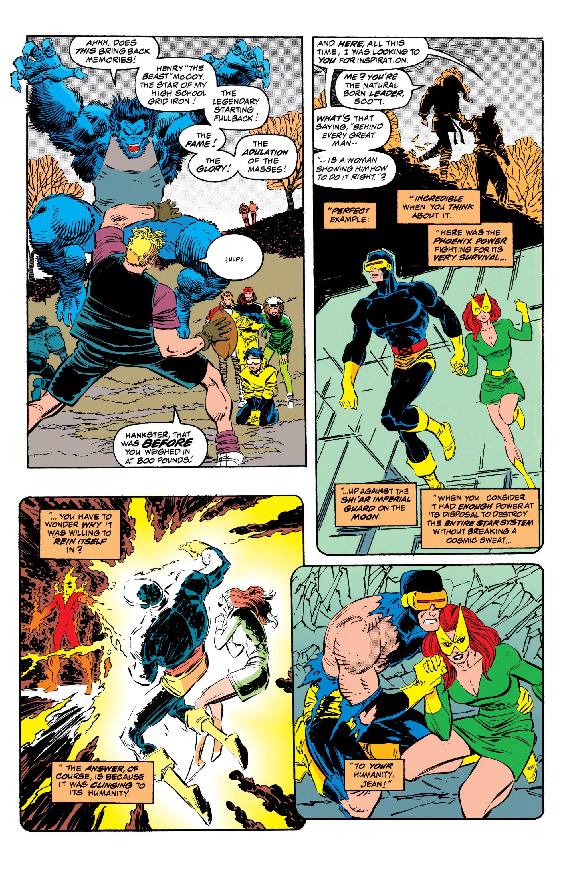 Read online Uncanny X-Men (1963) comic -  Issue #308 - 9