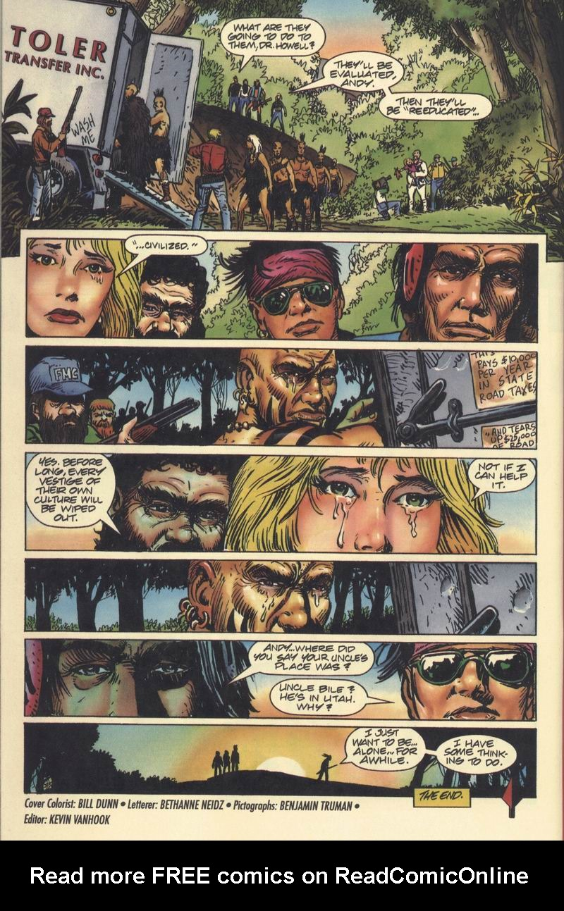 Read online Turok, Dinosaur Hunter (1993) comic -  Issue #9 - 21