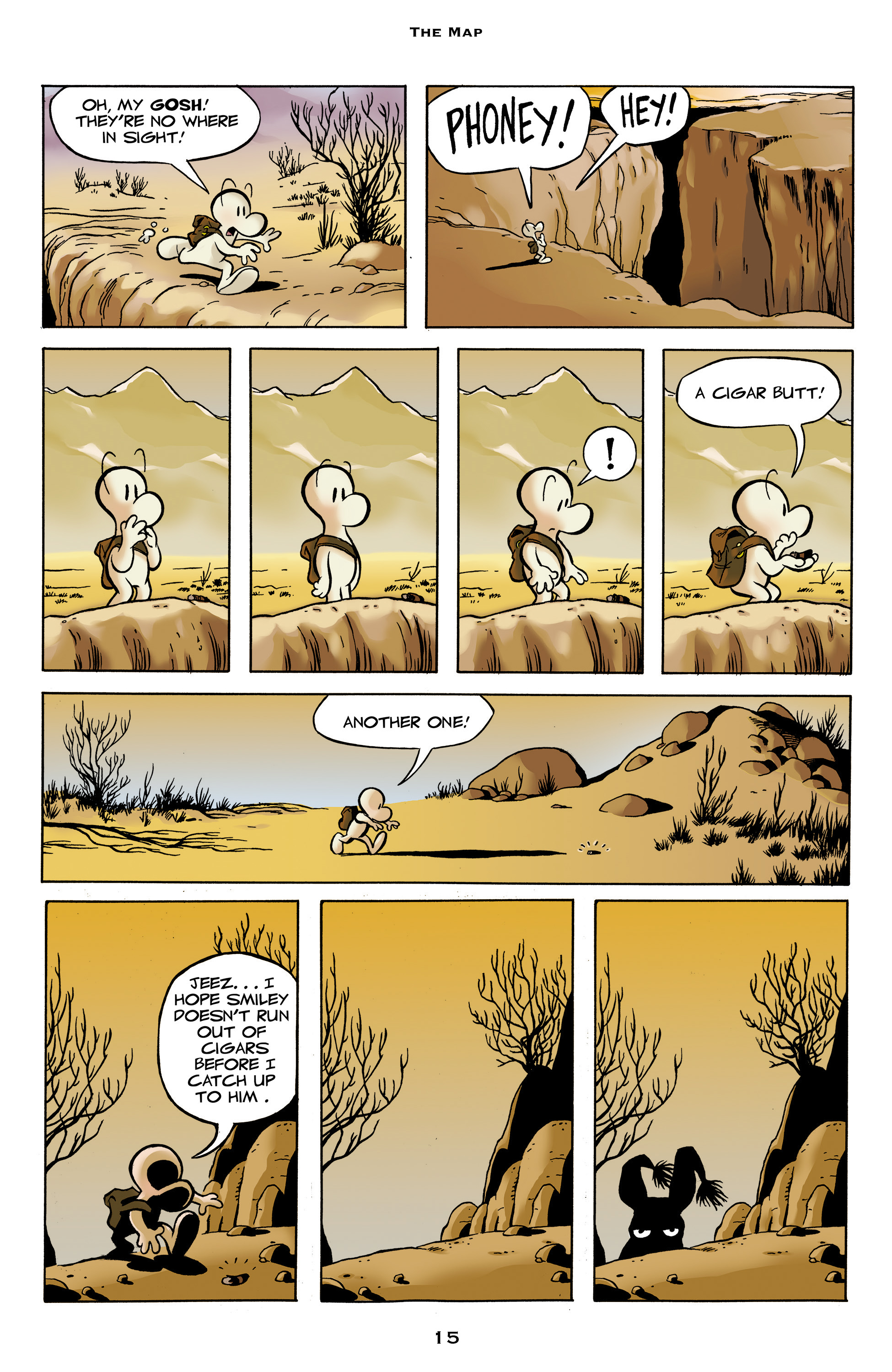 Read online Bone: Out From Boneville comic -  Issue # TPB - 15