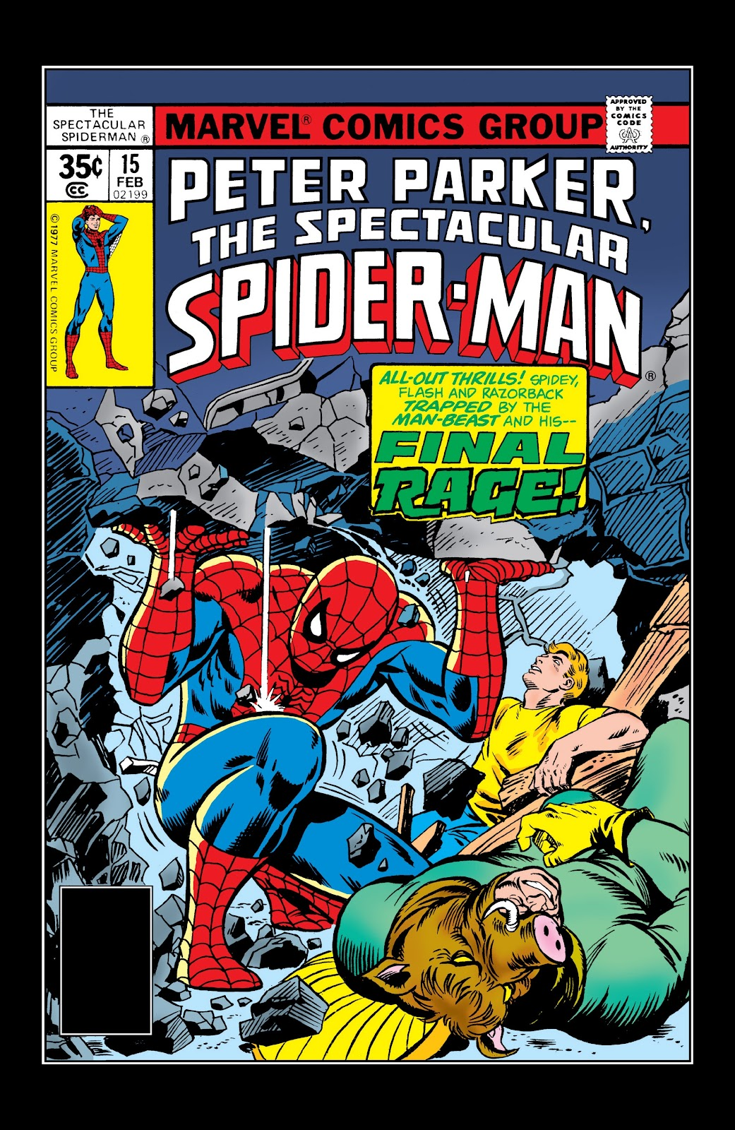 Read online Marvel Masterworks: The Spectacular Spider-Man comic -  Issue # TPB (Part 3) - 46