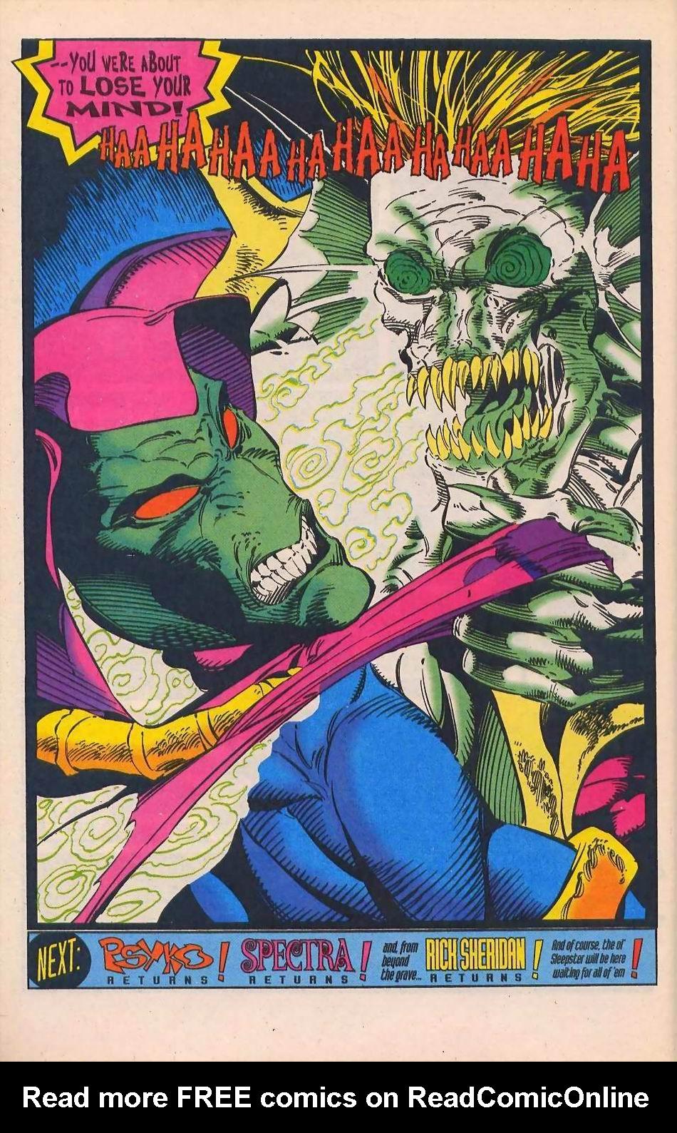 Read online Sleepwalker comic -  Issue #28 - 23