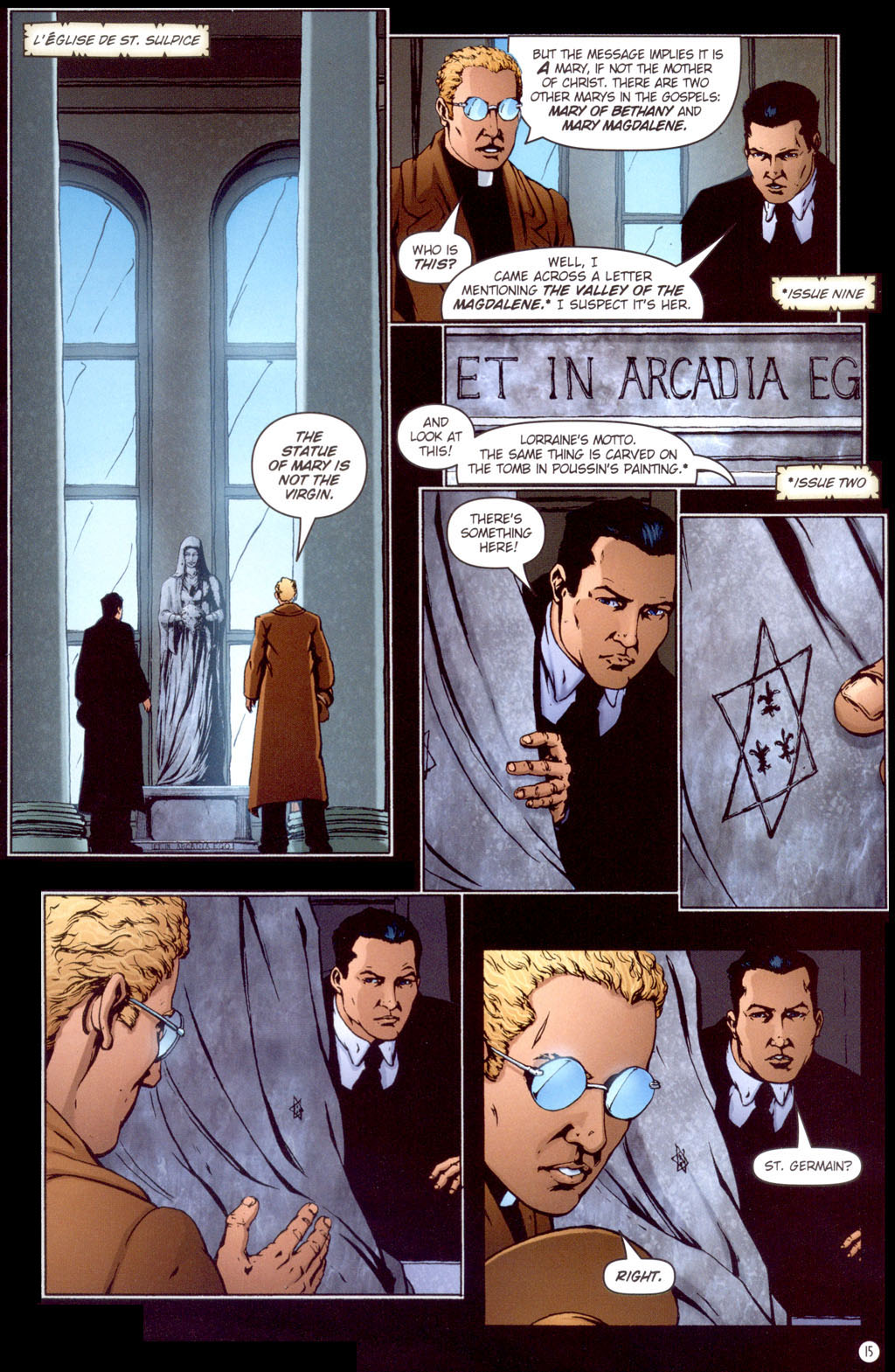 Read online Rex Mundi comic -  Issue #13 - 17