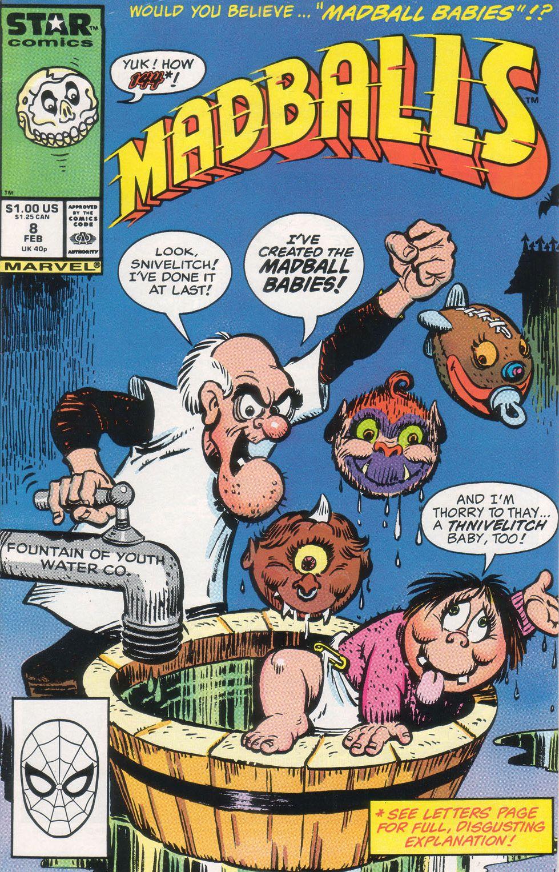 Madballs issue 8 - Page 1