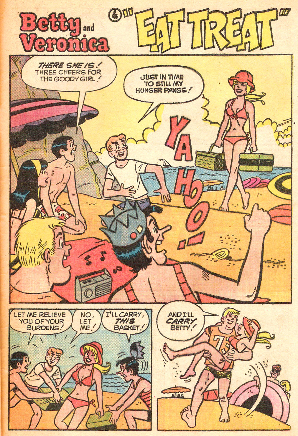 Read online Archie's Girls Betty and Veronica comic -  Issue #213 - 29